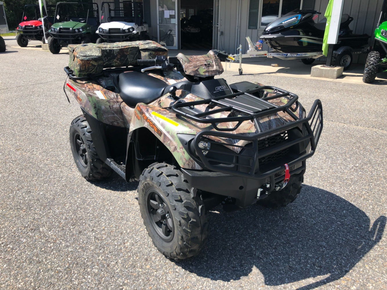 2019 Kawasaki Brute Force 750 4x4i EPS Camo in Lebanon, Maine - Photo 6