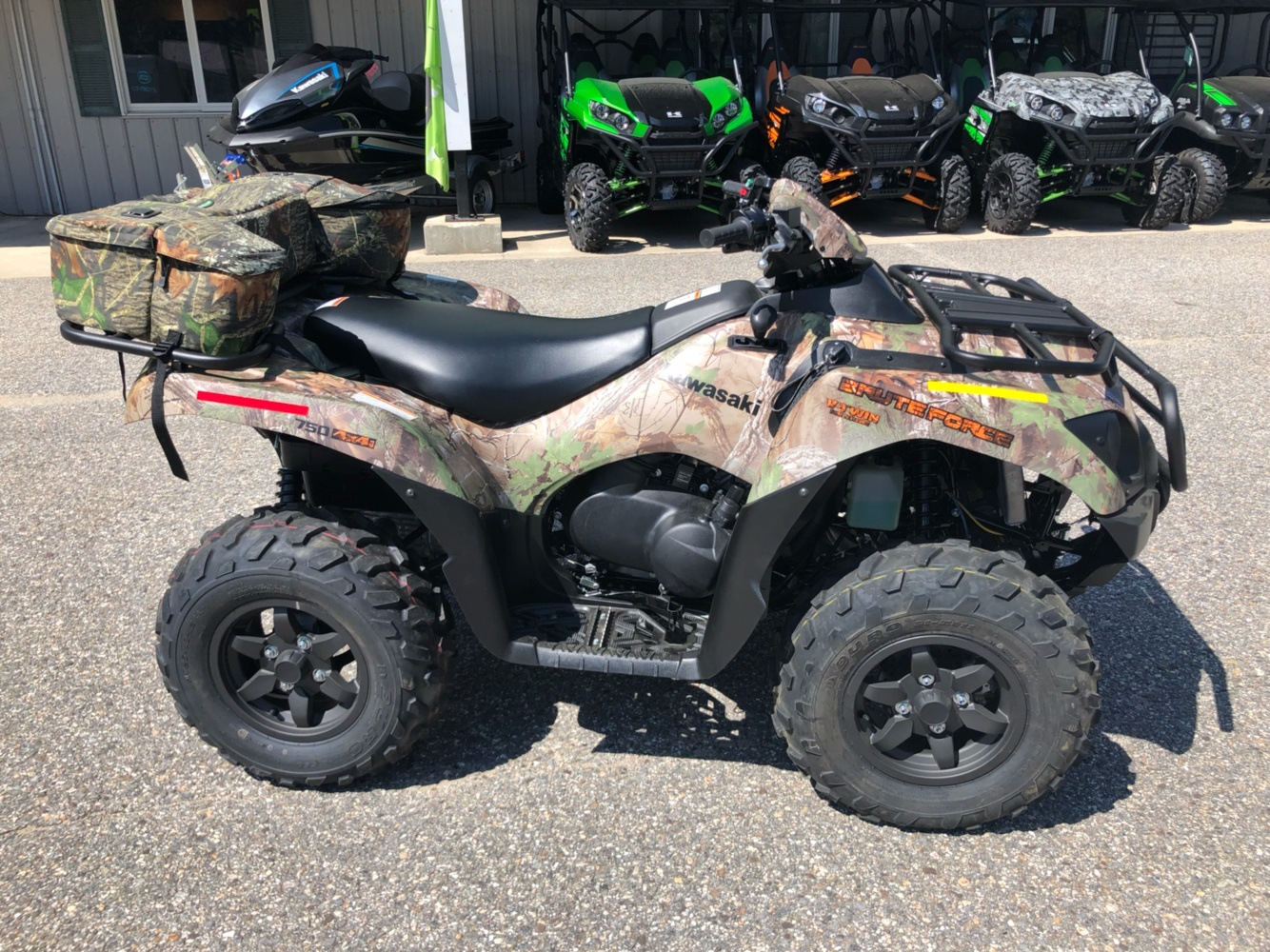 2019 Kawasaki Brute Force 750 4x4i EPS Camo in Lebanon, Maine - Photo 7