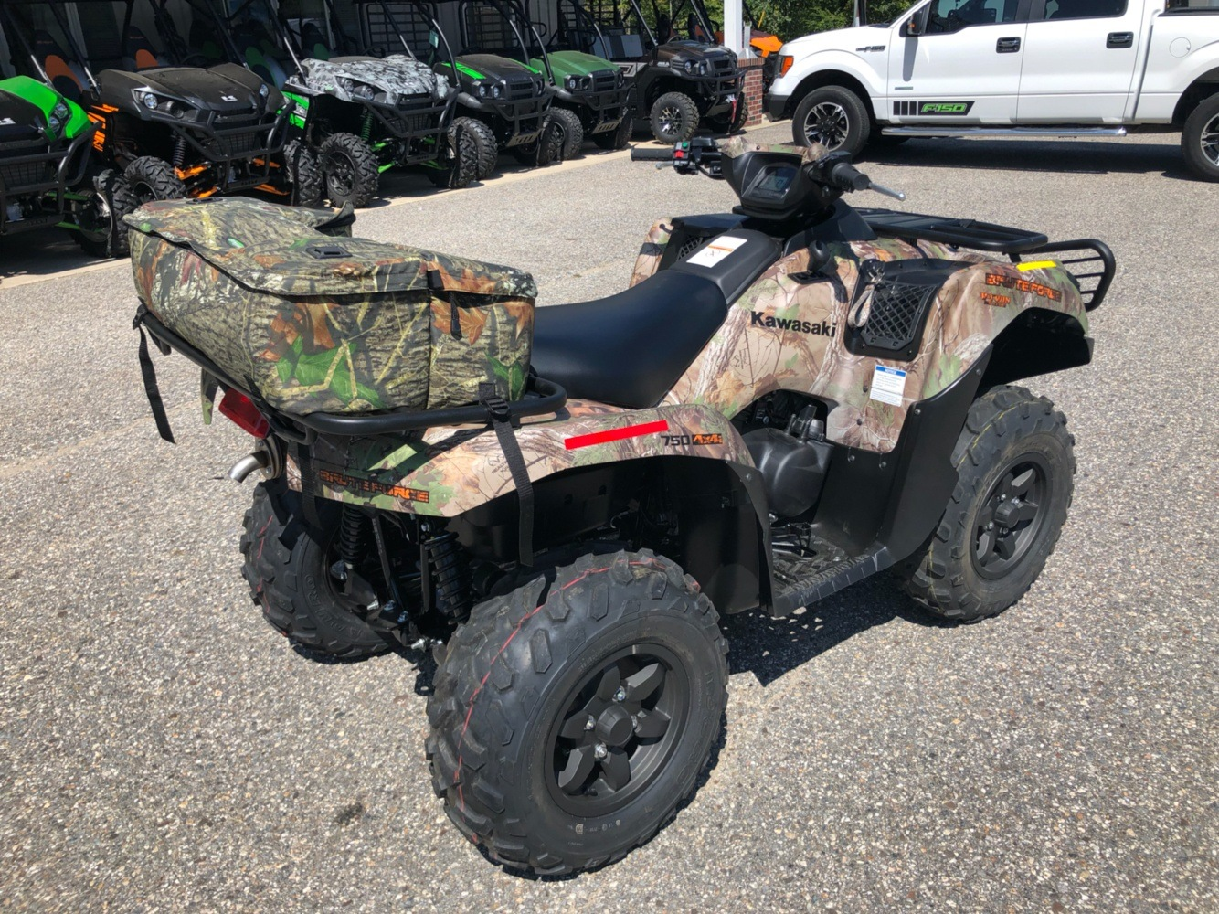 2019 Kawasaki Brute Force 750 4x4i EPS Camo in Lebanon, Maine - Photo 8
