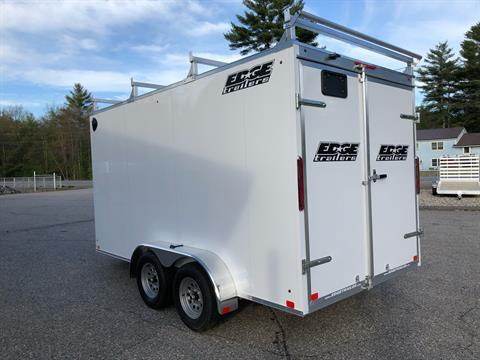 2020 Edge Trailer 7x14 ECO V Contractor in Lebanon, Maine - Photo 4