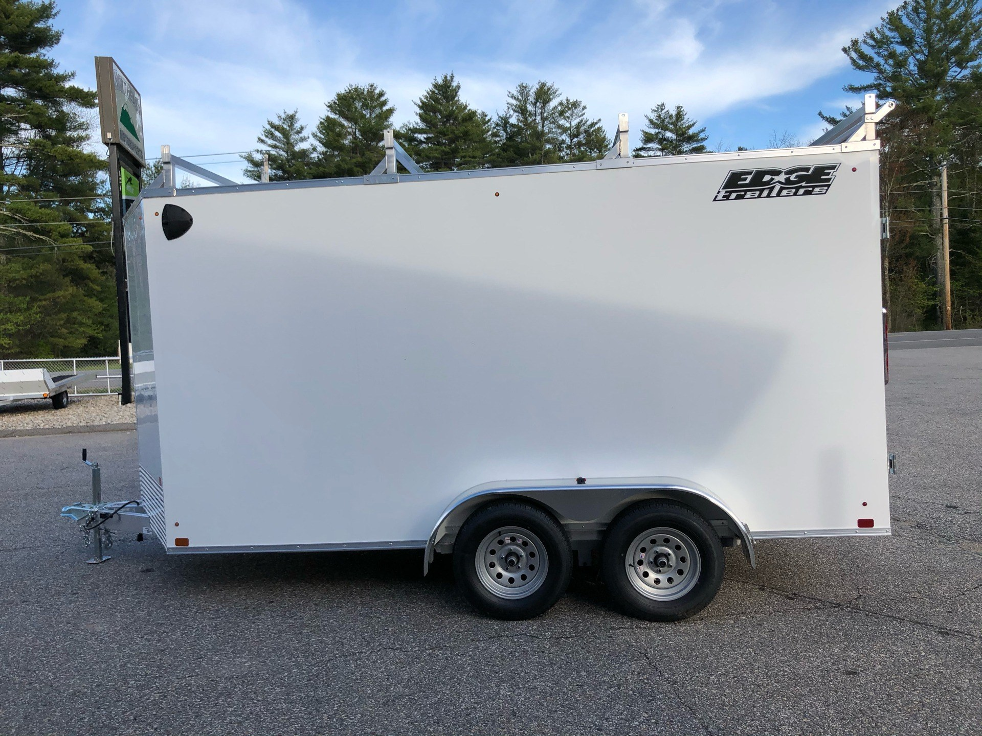 2020 Edge Trailer 7x14 ECO V Contractor in Lebanon, Maine - Photo 5