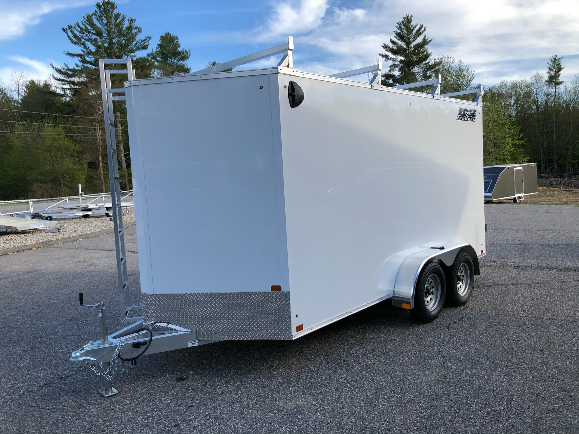 2020 Edge Trailer 7x14 ECO V Contractor in Lebanon, Maine - Photo 6