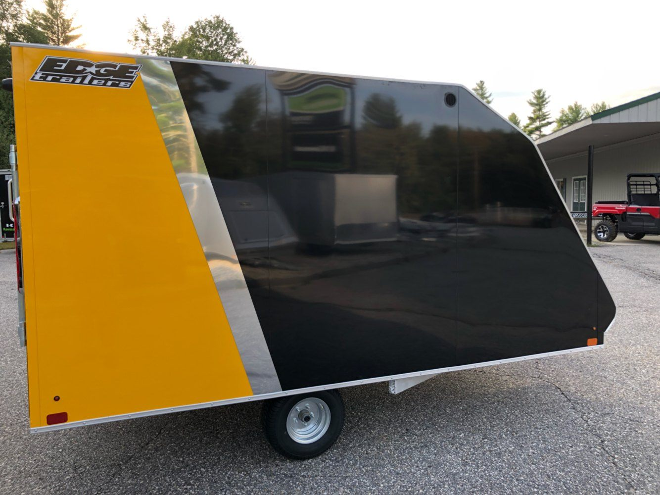 2020 Edge Trailer 101x12 CROSSOVER in Lebanon, Maine - Photo 2