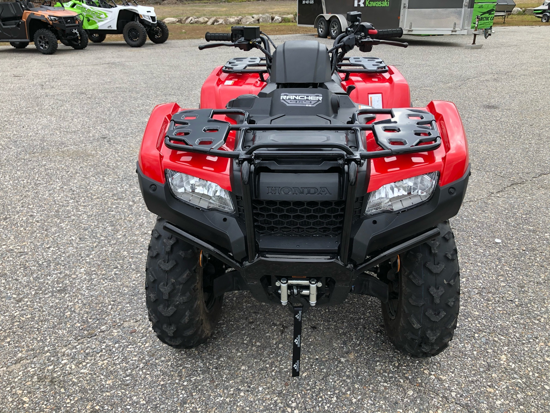 2020 Honda FourTrax Rancher 4x4 ES in Lebanon, Maine - Photo 8