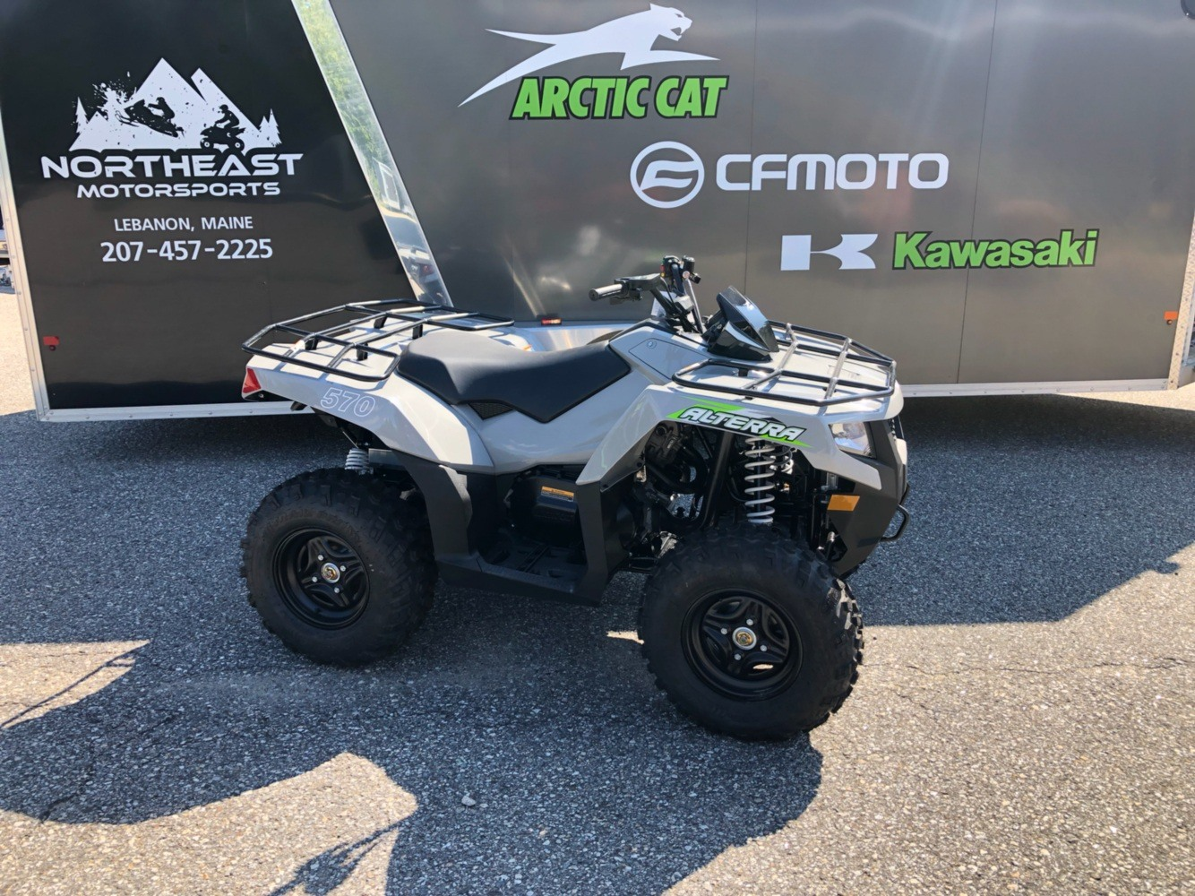 2020 Arctic Cat Alterra 570 in Lebanon, Maine - Photo 1