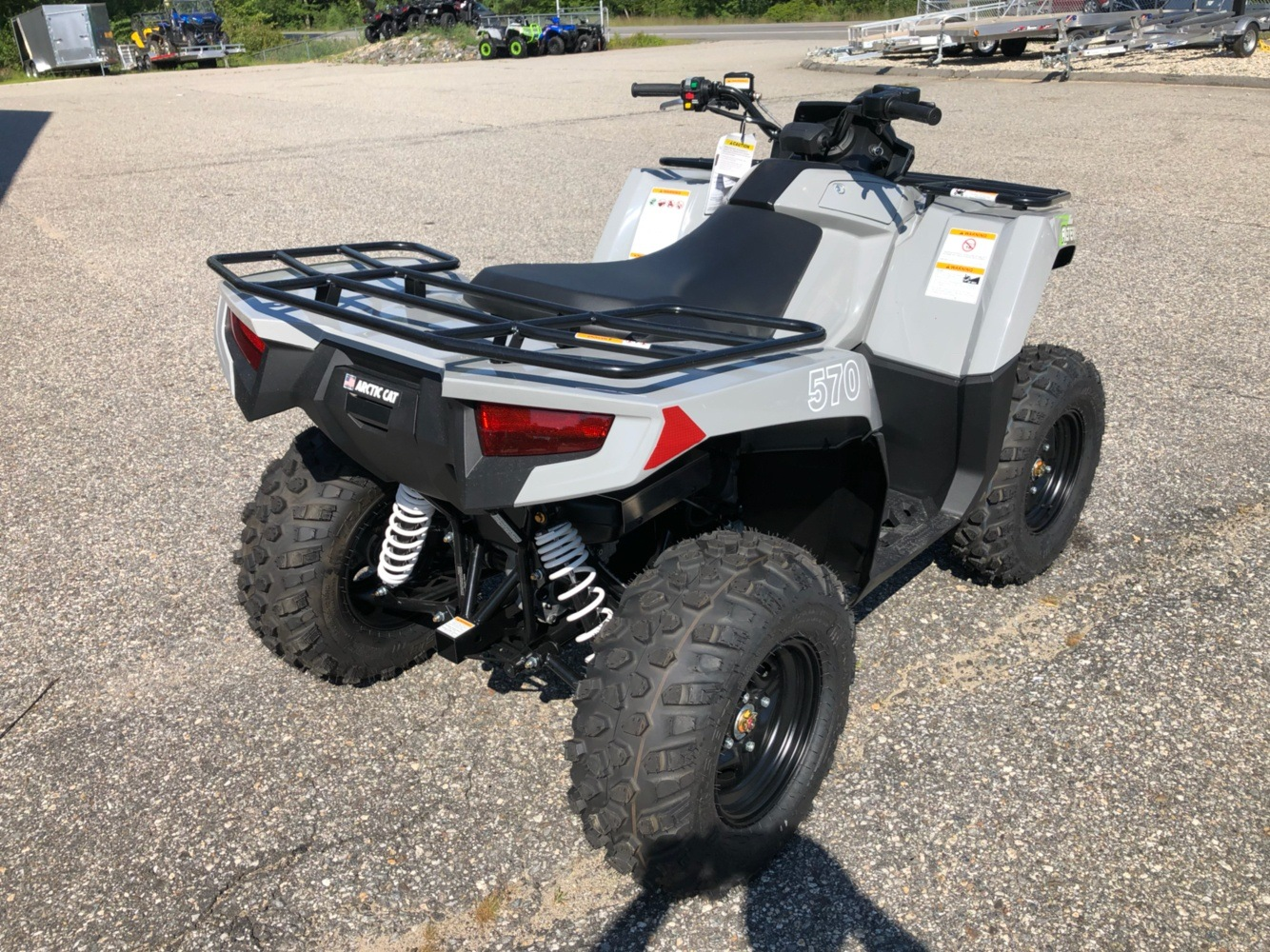 2020 Arctic Cat Alterra 570 in Lebanon, Maine - Photo 8