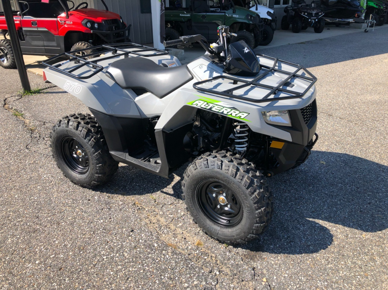 2020 Arctic Cat Alterra 570 in Lebanon, Maine - Photo 9