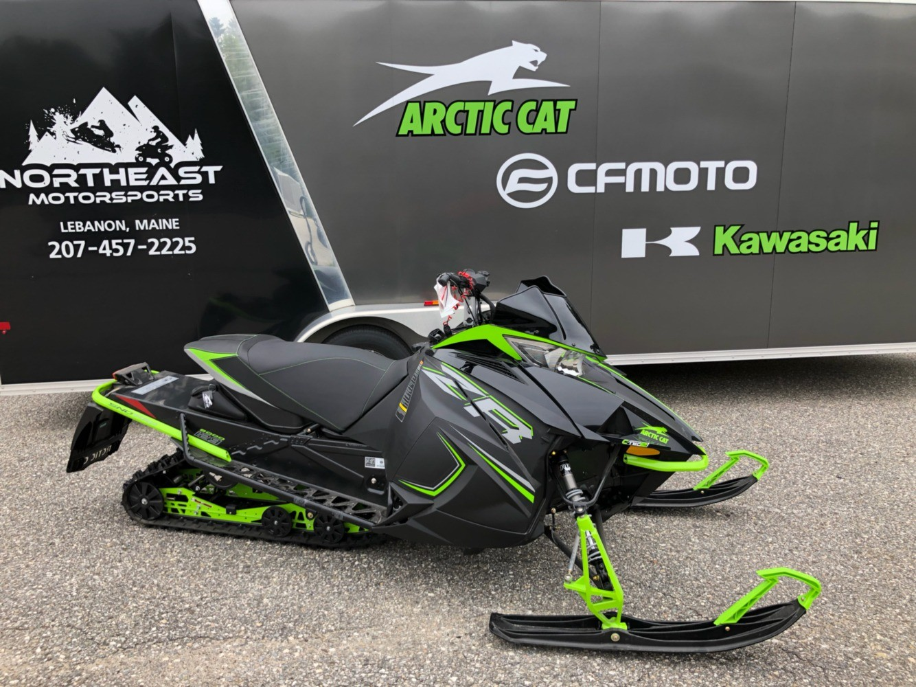 2019 Arctic Cat ZR 8000 Sno Pro ES 129 in Lebanon, Maine - Photo 2