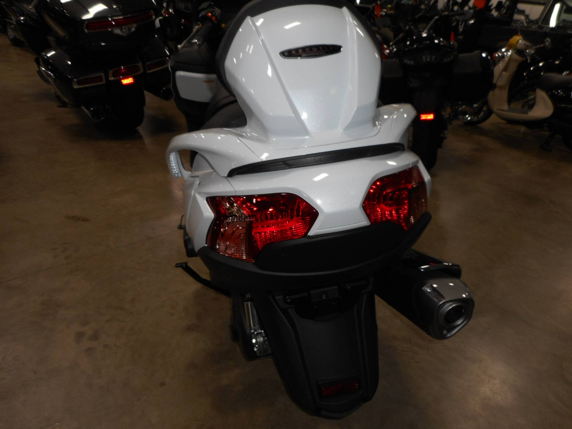 2017 Suzuki Burgman 650 Executive in Belvidere, Illinois - Photo 7
