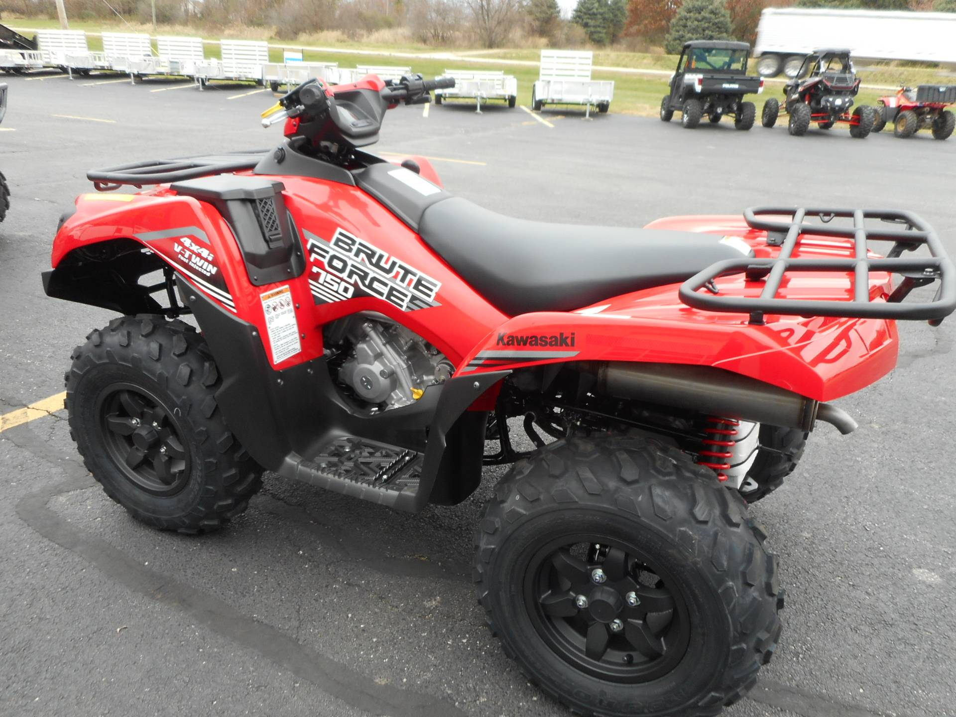 2020 Kawasaki Brute Force 750 4x4i in Belvidere, Illinois - Photo 6