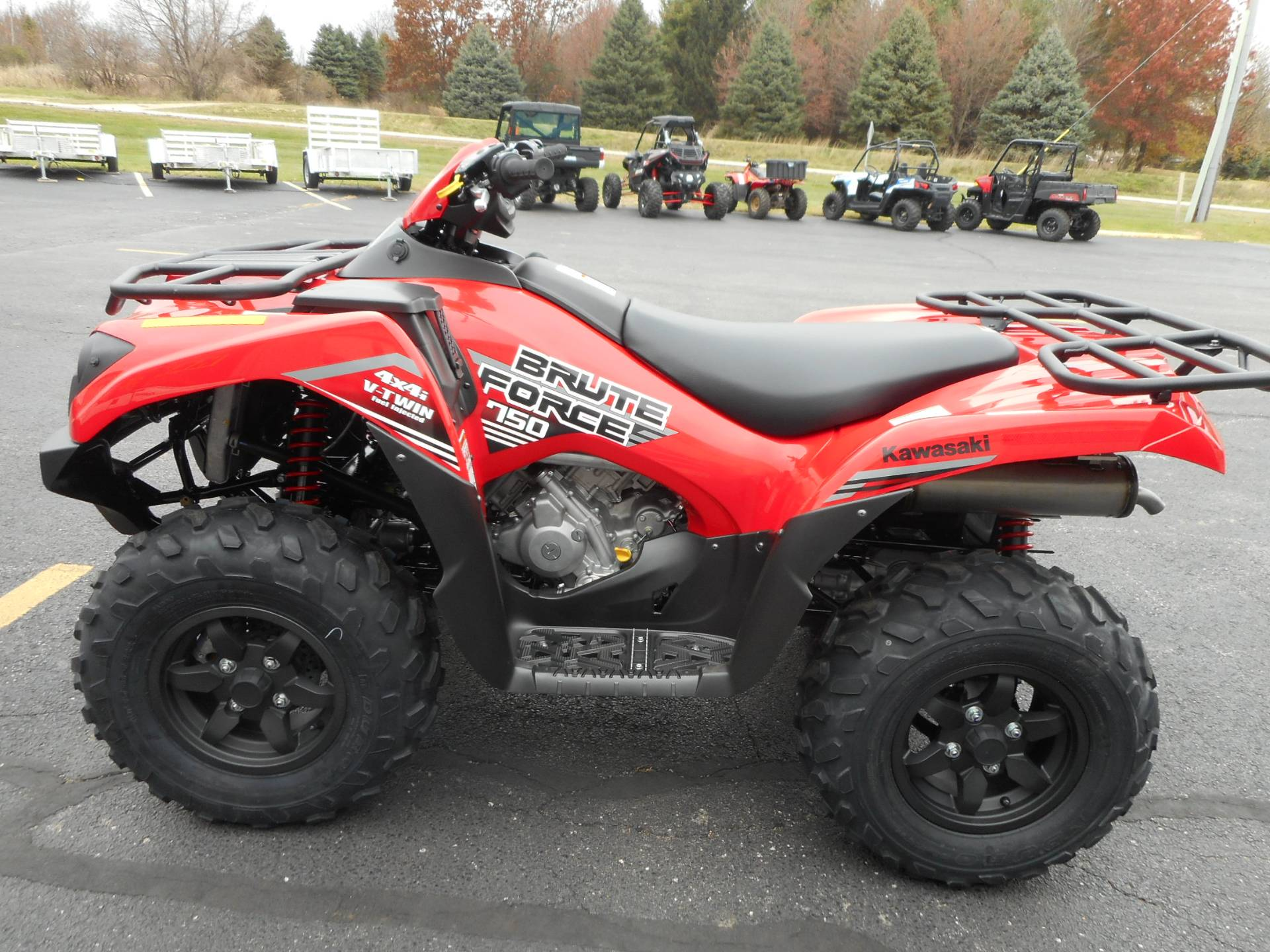 2020 Kawasaki Brute Force 750 4x4i in Belvidere, Illinois - Photo 2