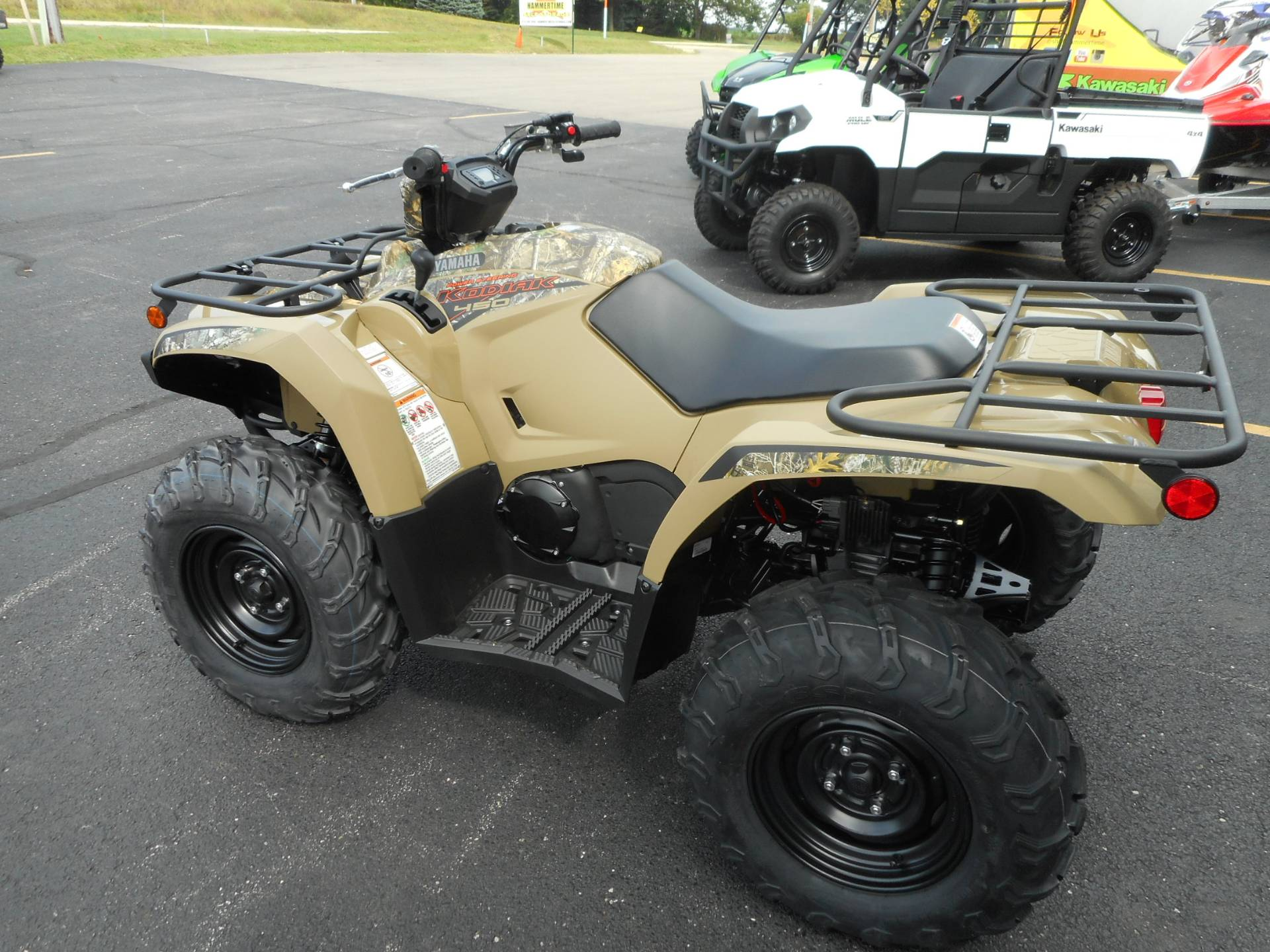 2020 Yamaha Kodiak 450 EPS in Belvidere, Illinois - Photo 3
