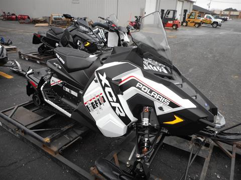 2018 Polaris 600 RUSH XCR SnowCheck Select in Belvidere, Illinois
