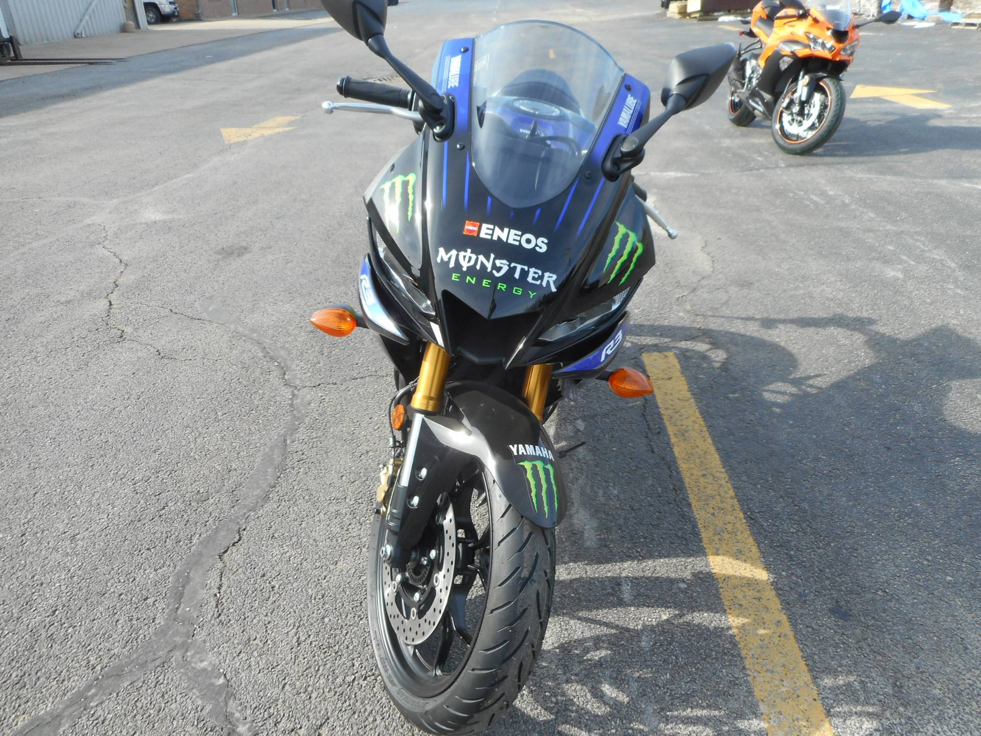 2020 Yamaha YZF-R3 ABS Monster Energy Yamaha MotoGP Edition in Belvidere, Illinois - Photo 4