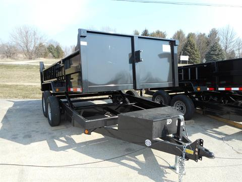 2018 Quality Trailers 7x14  DUMP in Belvidere, Illinois - Photo 2