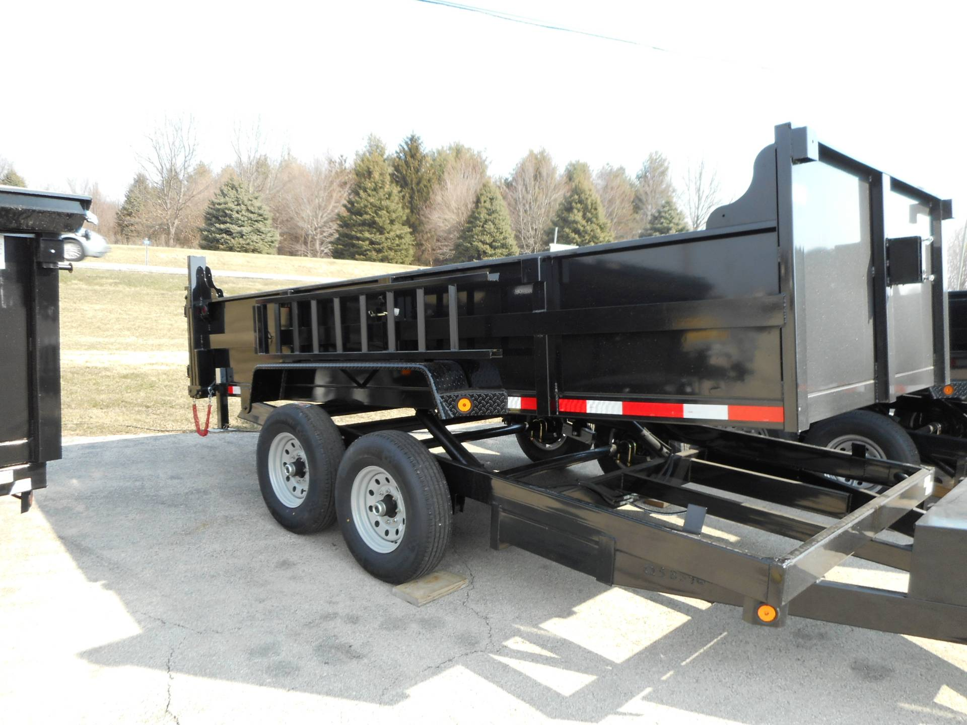 2018 Quality Trailers 7x14  DUMP in Belvidere, Illinois - Photo 1
