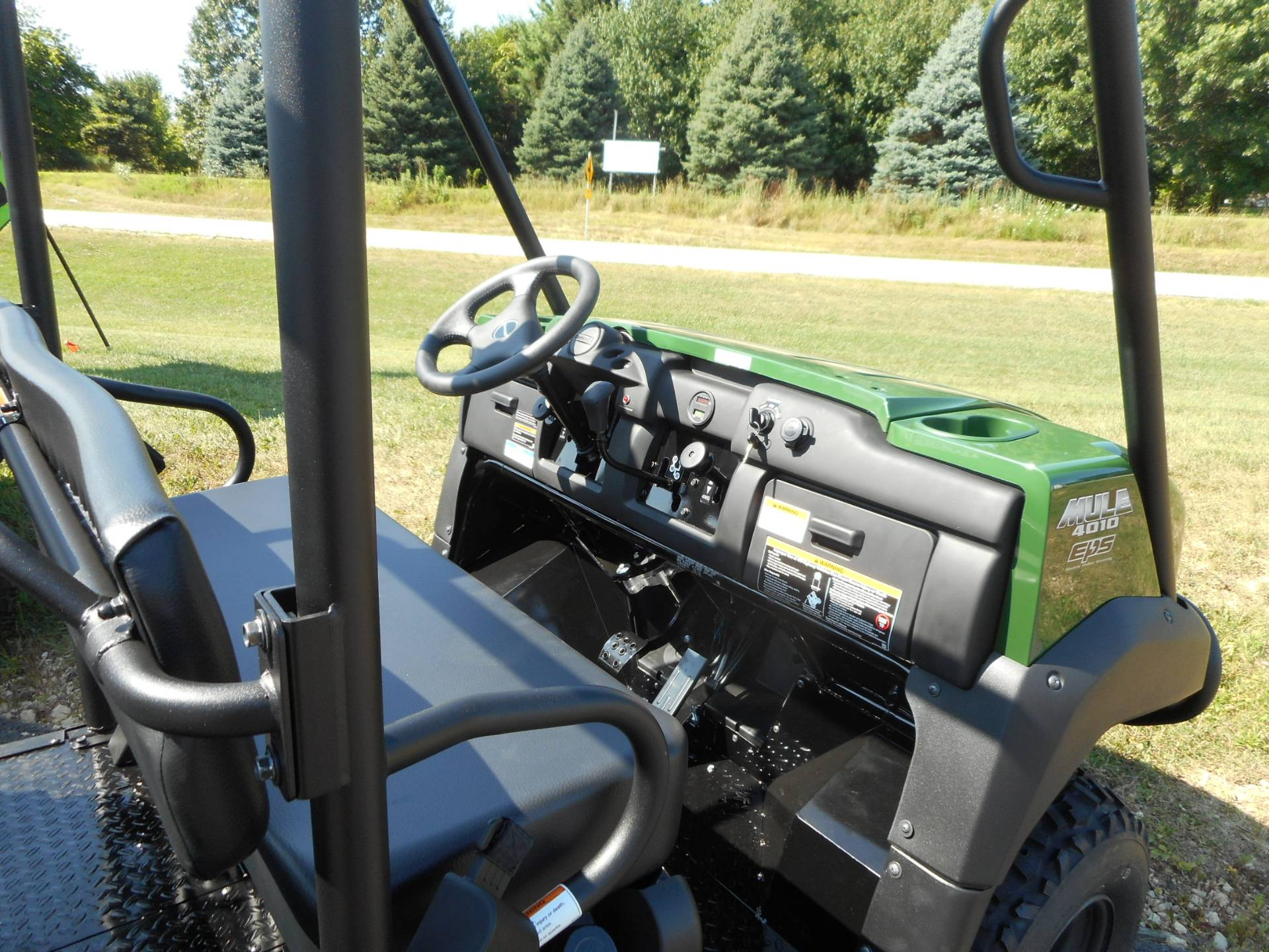 2020 Kawasaki Mule 4010 Trans4x4 in Belvidere, Illinois - Photo 4
