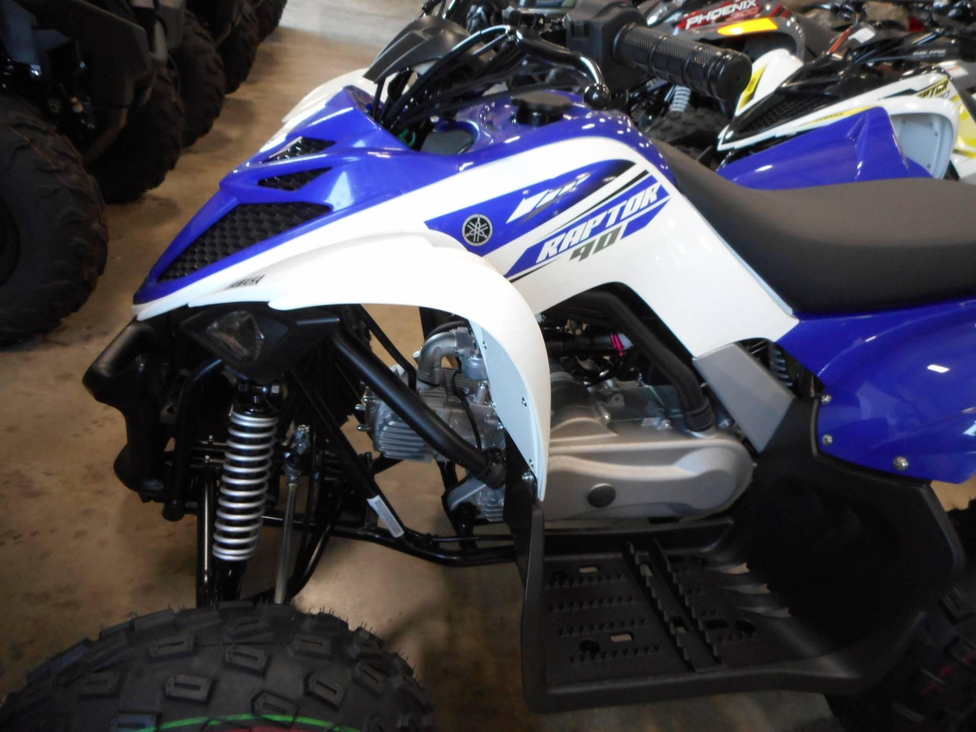 2018 Yamaha Raptor 90 6