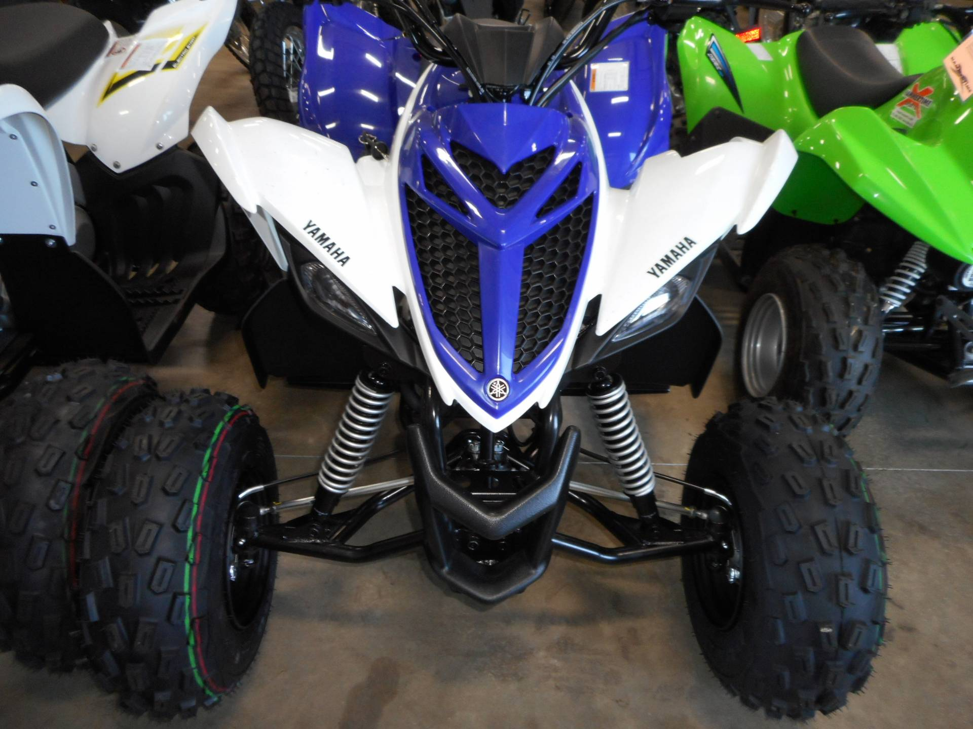 2018 Yamaha Raptor 90 7