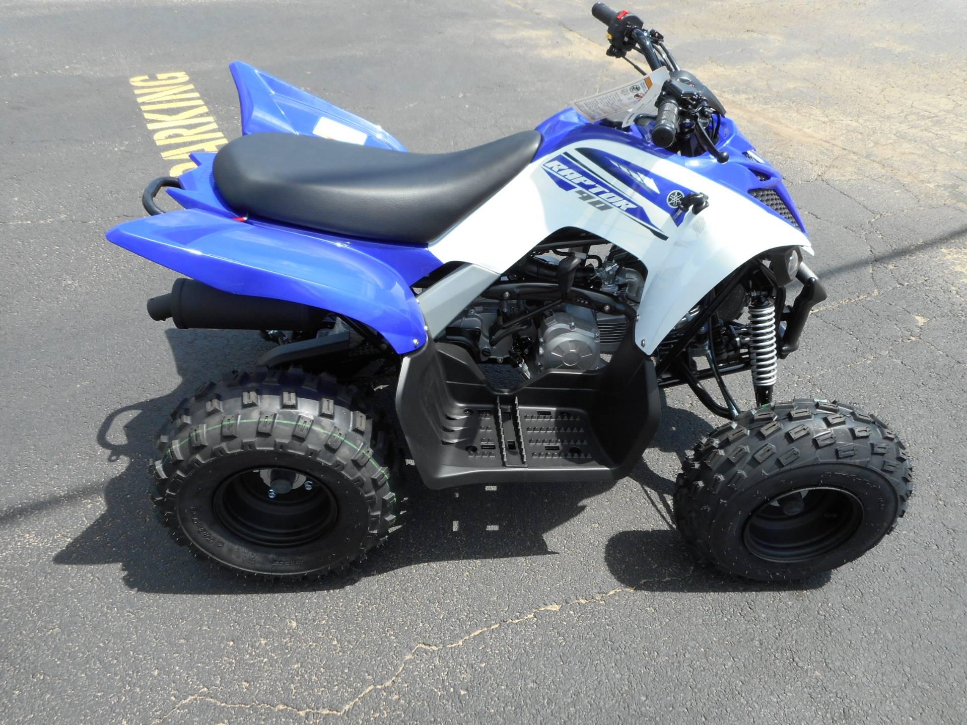 2018 Yamaha Raptor 90 8