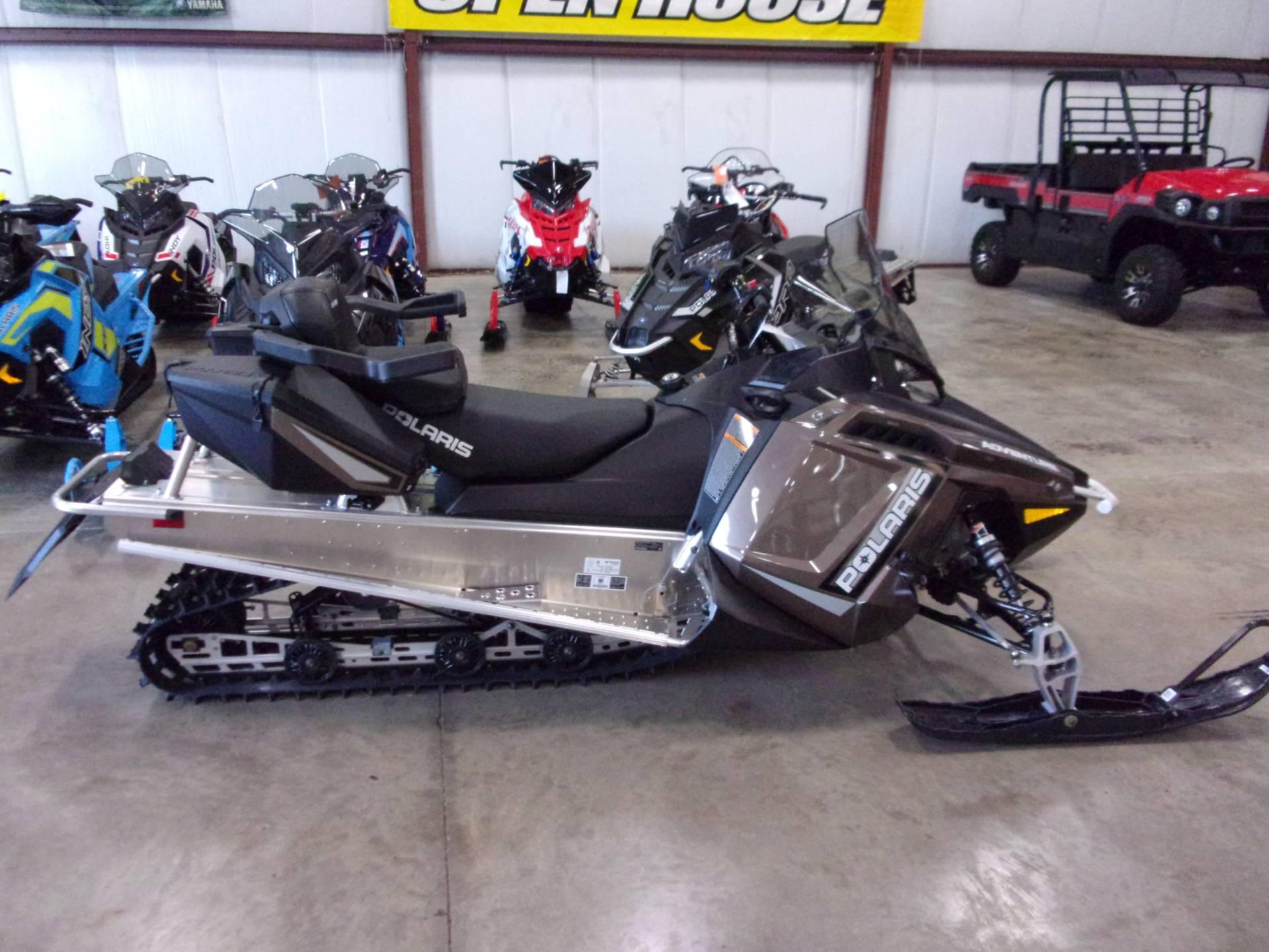 2021 Polaris 550 Indy Adventure 144 ES in Belvidere, Illinois - Photo 1