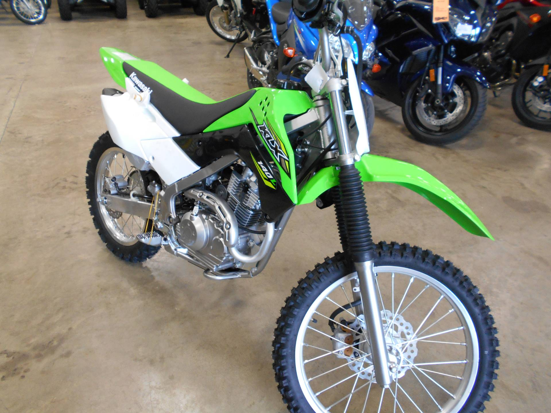 2018 Kawasaki KLX 140L in Belvidere, Illinois - Photo 1