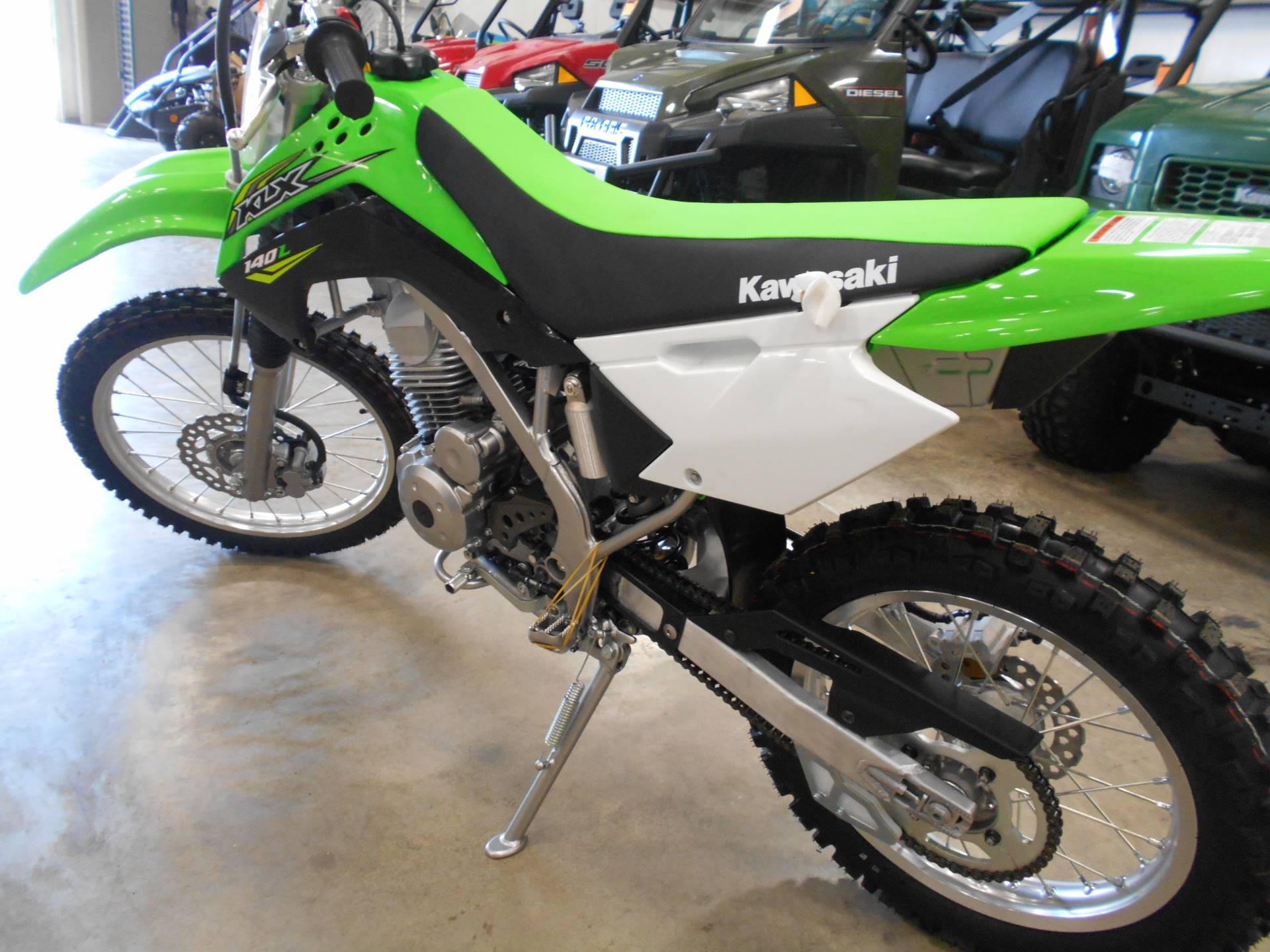 2018 Kawasaki KLX 140L in Belvidere, Illinois - Photo 5