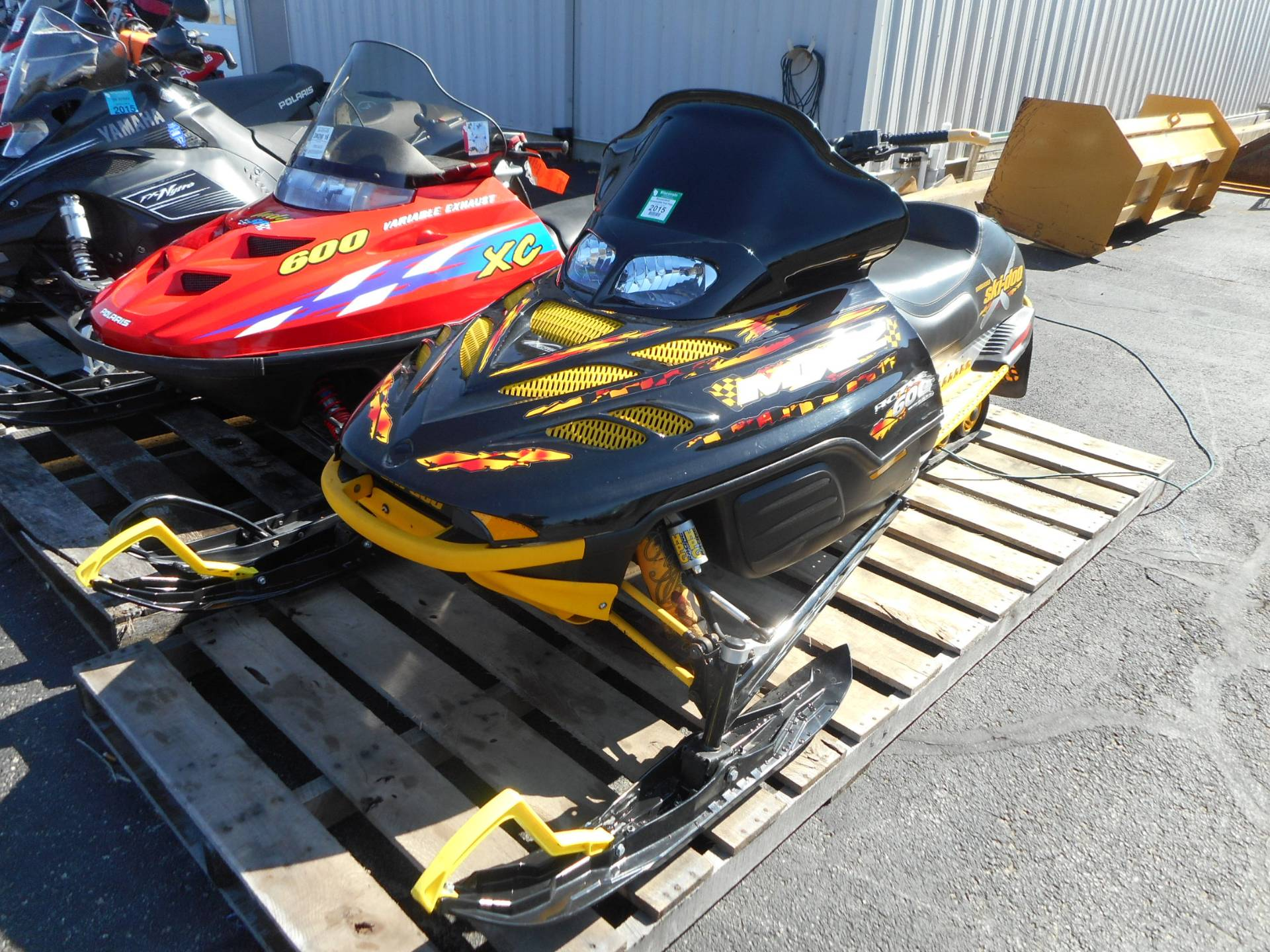 2001 Ski-Doo MX Z - Standard 600 in Belvidere, Illinois - Photo 1