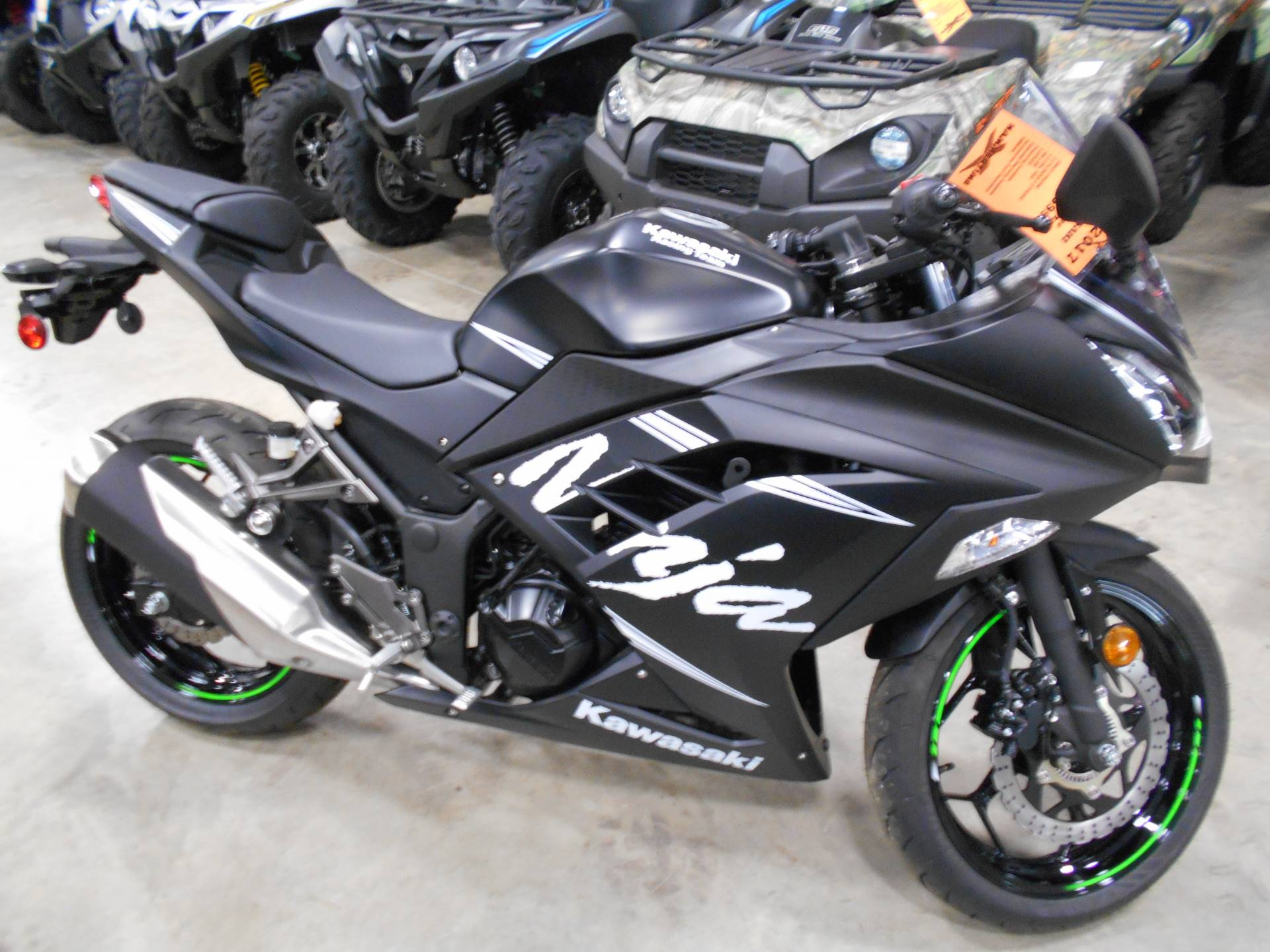 New 2017 Kawasaki Ninja 300 ABS Winter Test Edition Motorcycles in