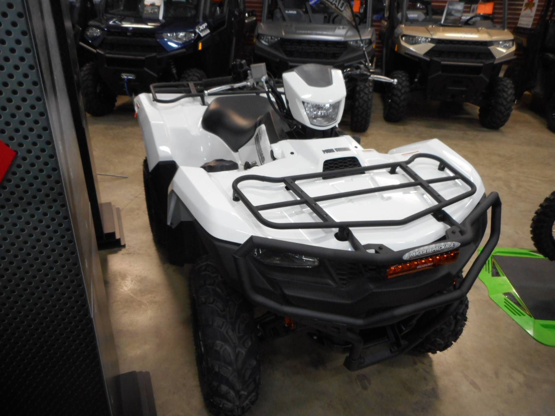 2020 Suzuki KingQuad 500AXi Power Steering with Rugged Package in Belvidere, Illinois - Photo 3
