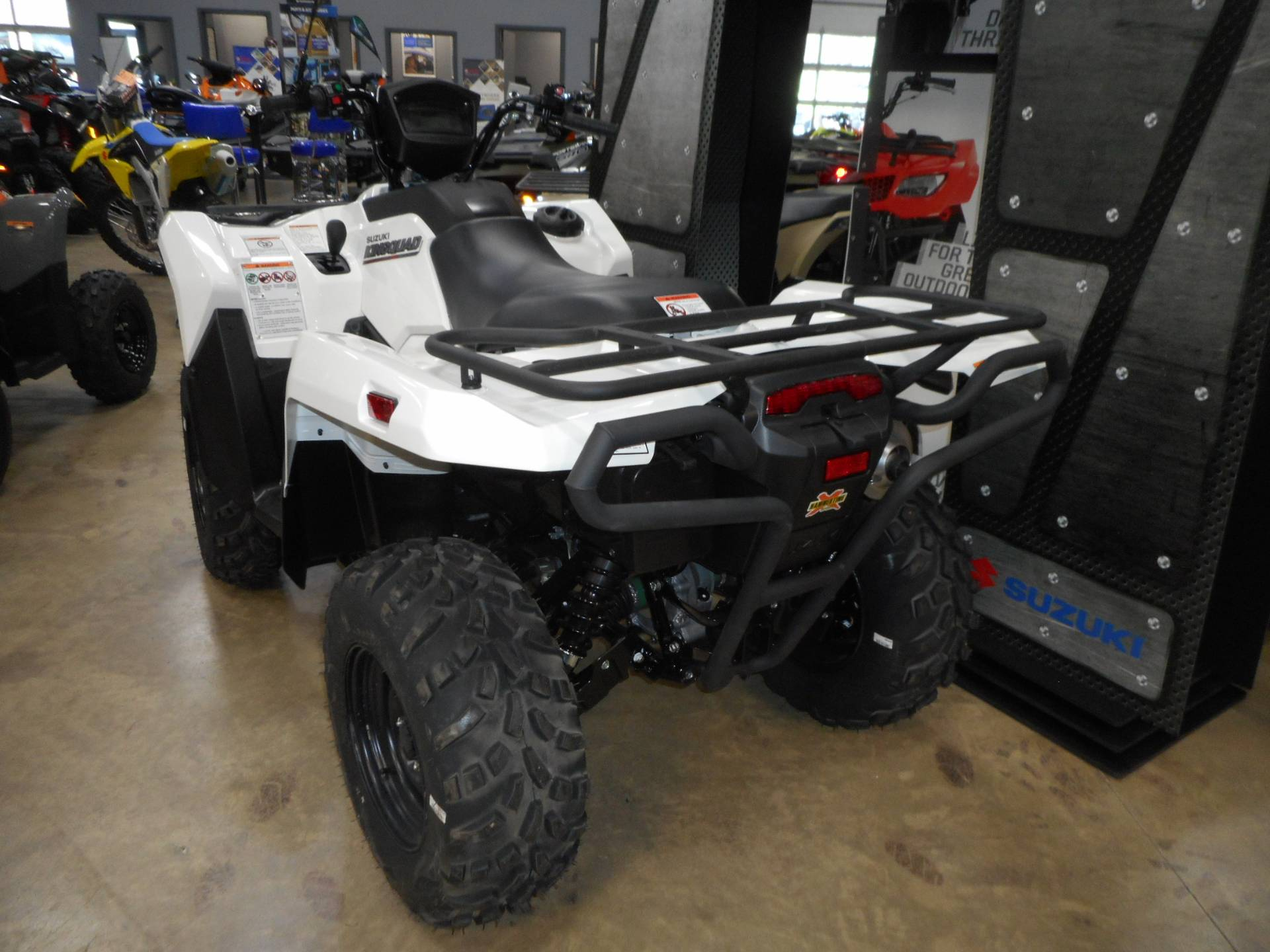 2020 Suzuki KingQuad 500AXi Power Steering with Rugged Package in Belvidere, Illinois - Photo 4