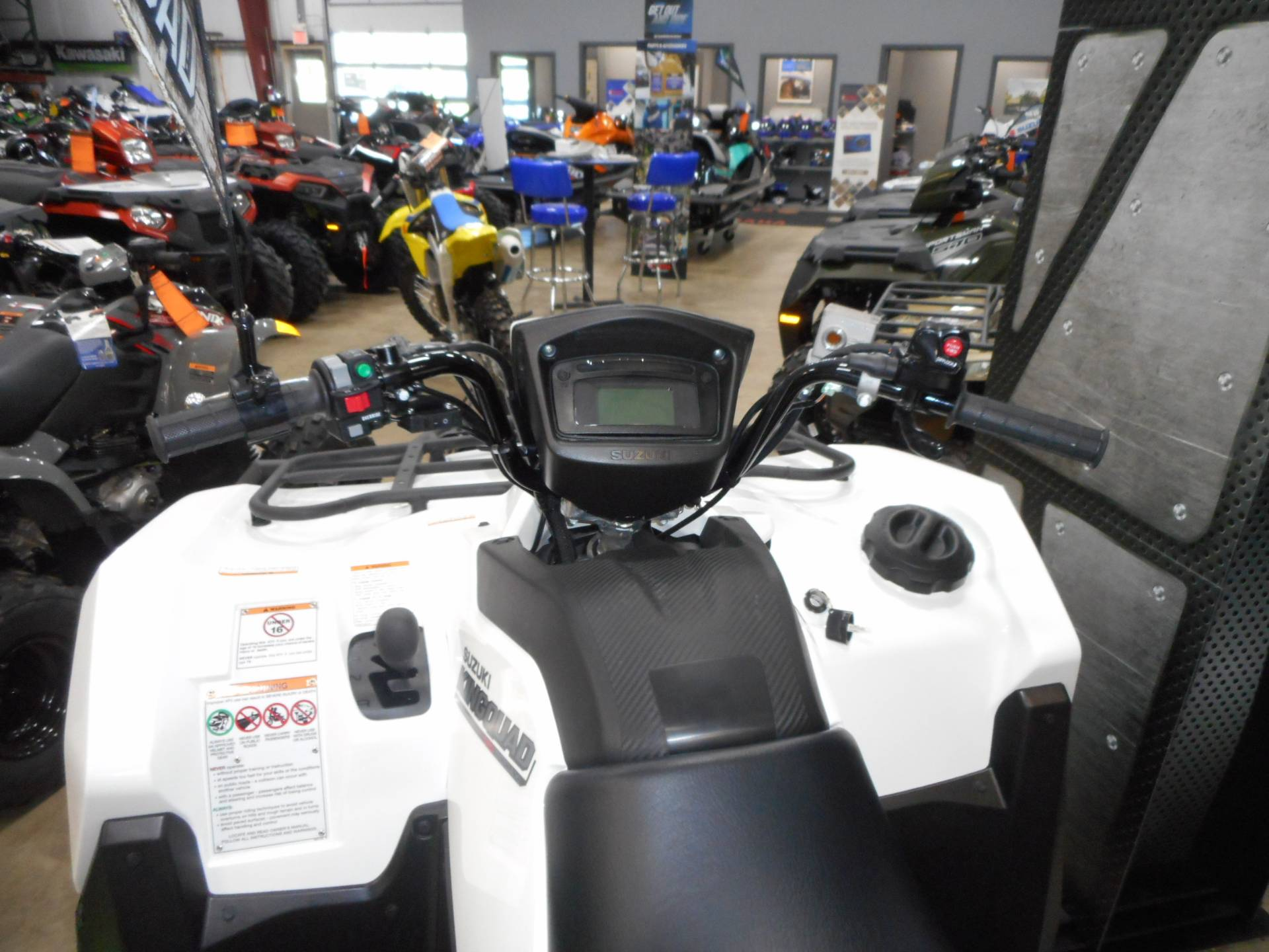 2020 Suzuki KingQuad 500AXi Power Steering with Rugged Package in Belvidere, Illinois - Photo 6