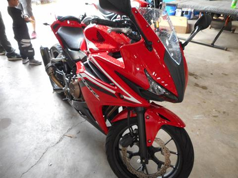 2016 Honda CBR500R in Belvidere, Illinois
