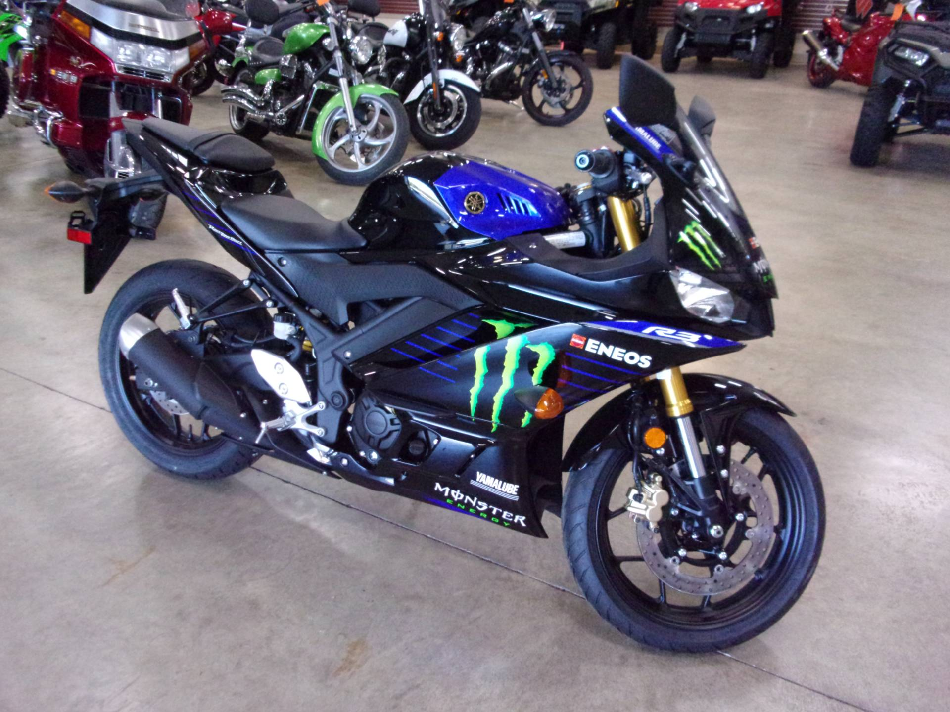 2021 Yamaha YZF-R3 ABS Monster Energy Yamaha MotoGP Edition in Belvidere, Illinois - Photo 1