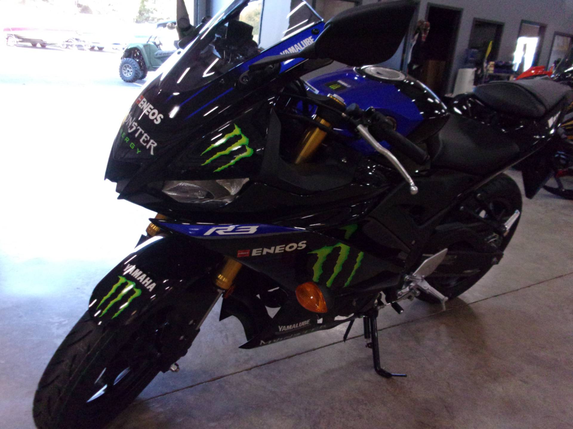2021 Yamaha YZF-R3 ABS Monster Energy Yamaha MotoGP Edition in Belvidere, Illinois - Photo 7