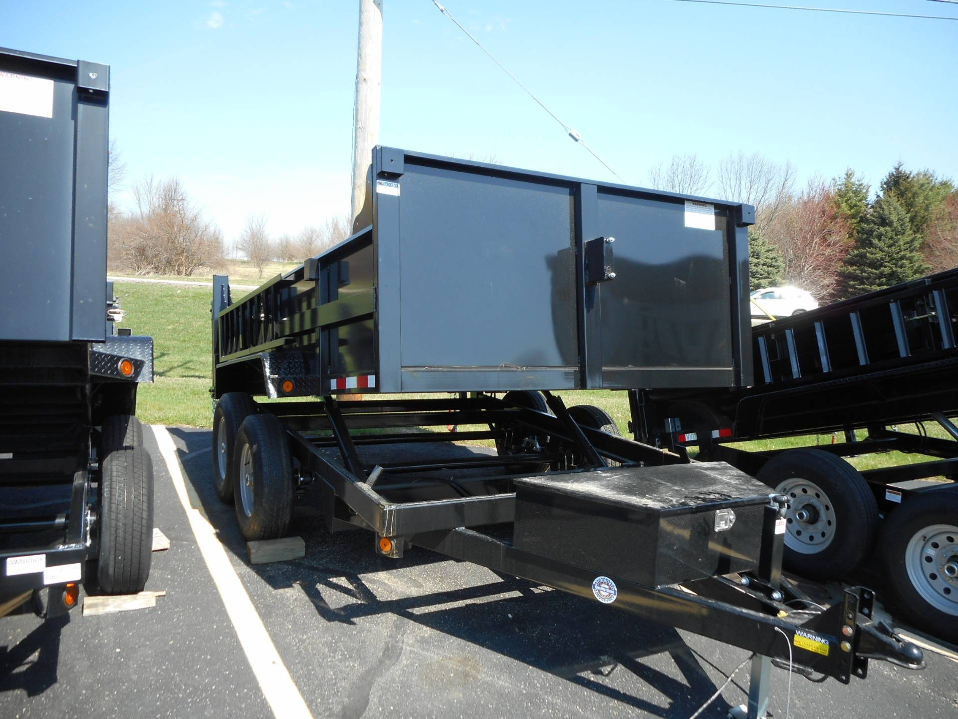 2020 Quality Trailers 83 x 12 DUMP TRAILER in Belvidere, Illinois - Photo 4