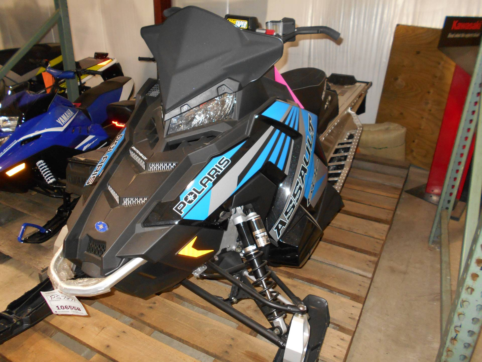 2017 Polaris 600 Switchback Assault 144 ES in Belvidere, Illinois