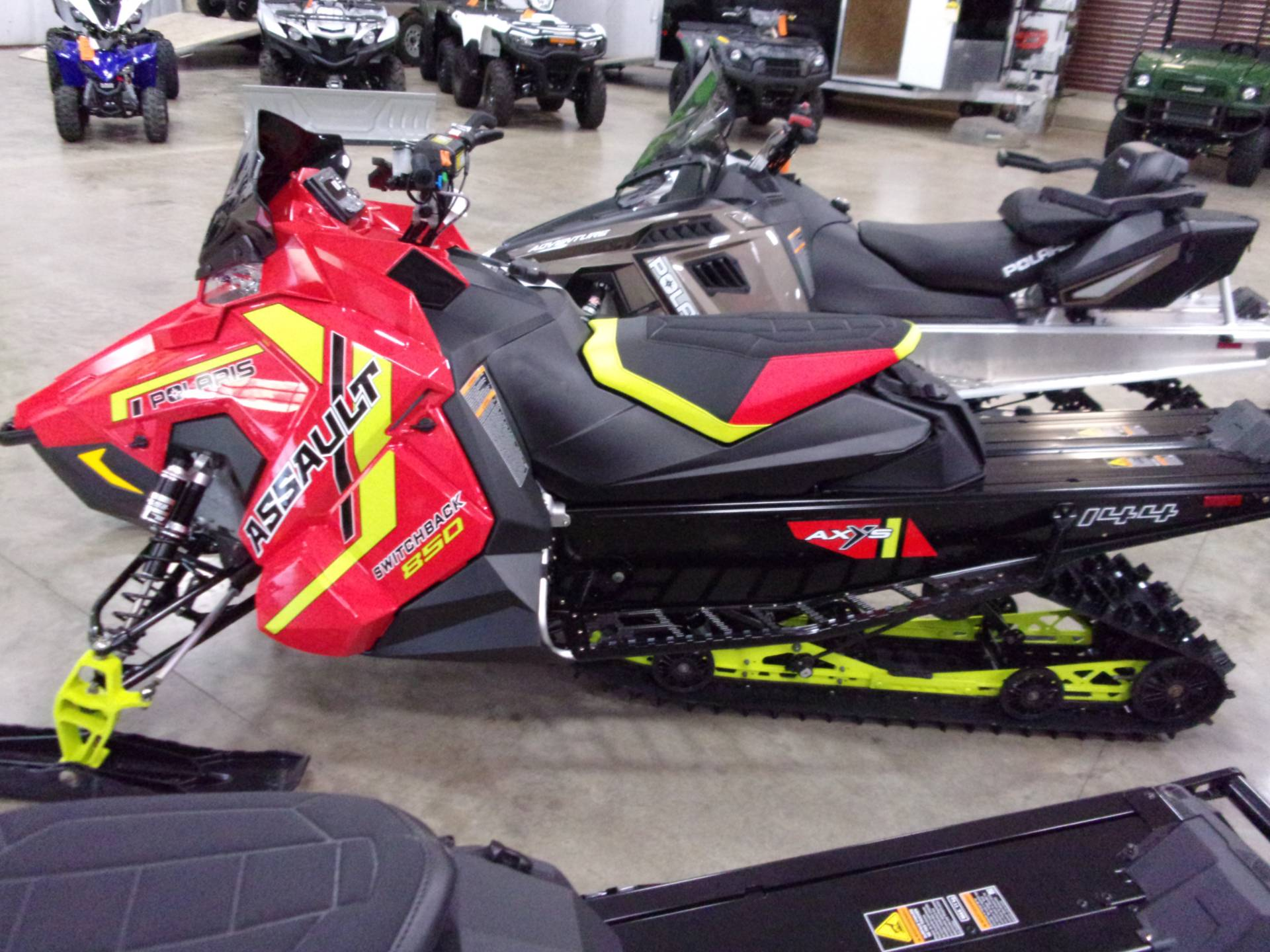 2021 Polaris 850 Switchback Assault 144 Factory Choice in Belvidere, Illinois - Photo 2