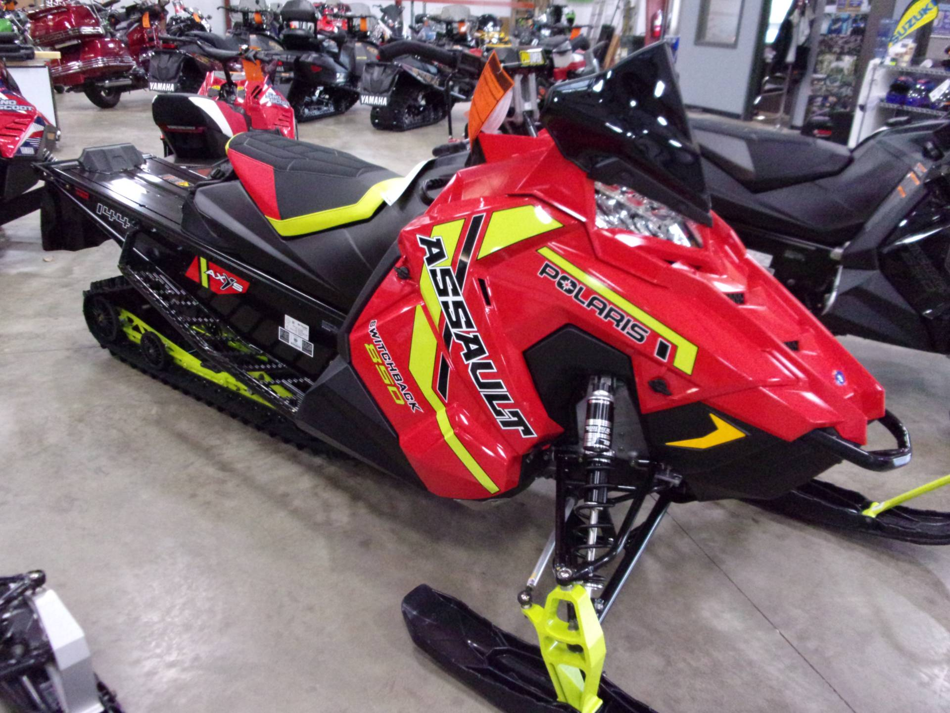 2021 Polaris 850 Switchback Assault 144 Factory Choice in Belvidere, Illinois - Photo 4