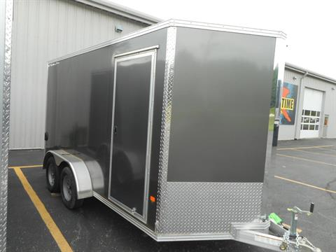 2019 Alcom Trailer 7X14 STEALTH ALUMINUM in Belvidere, Illinois - Photo 1