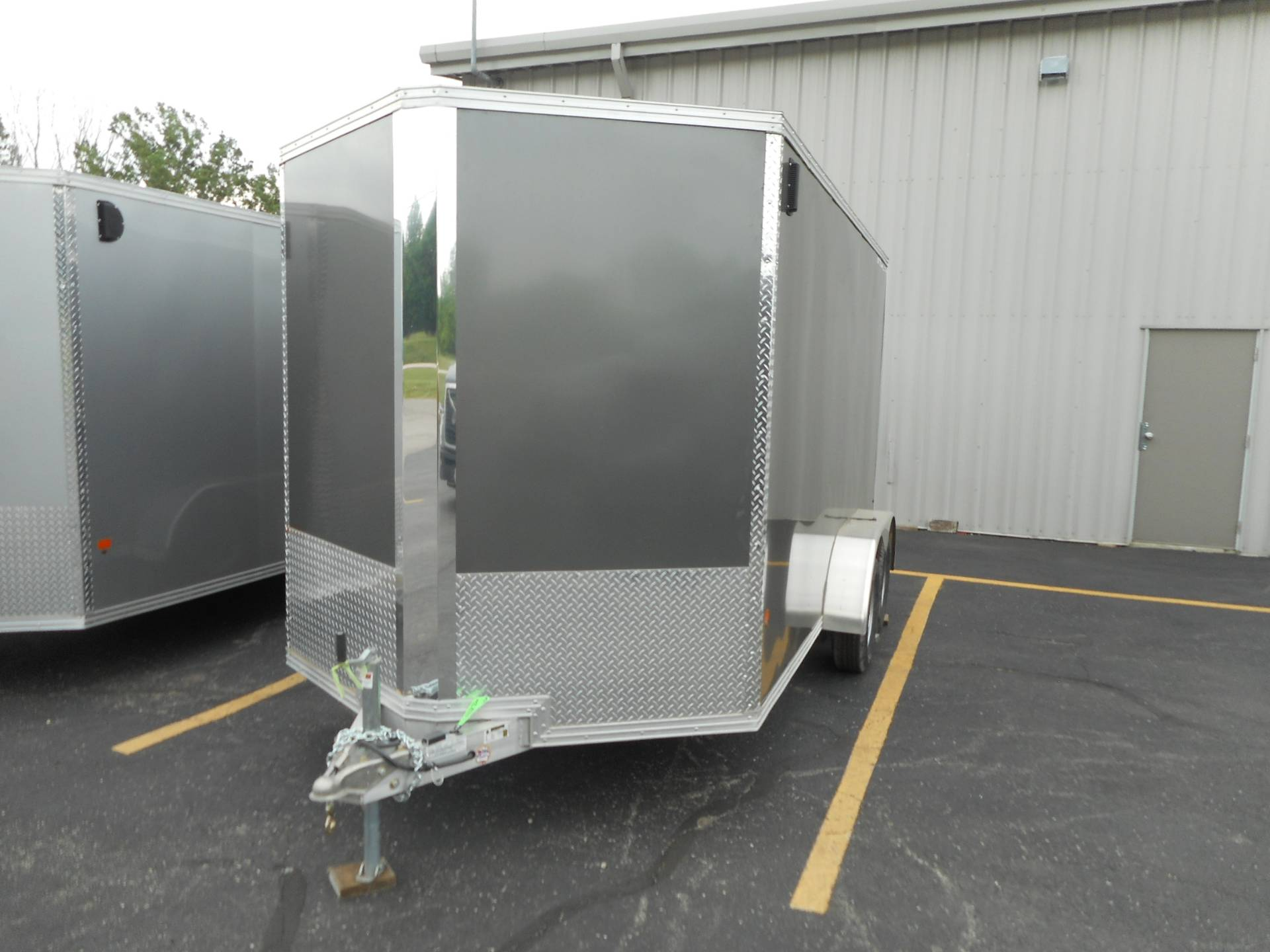 2019 Alcom Trailer 7X14 STEALTH ALUMINUM in Belvidere, Illinois - Photo 3