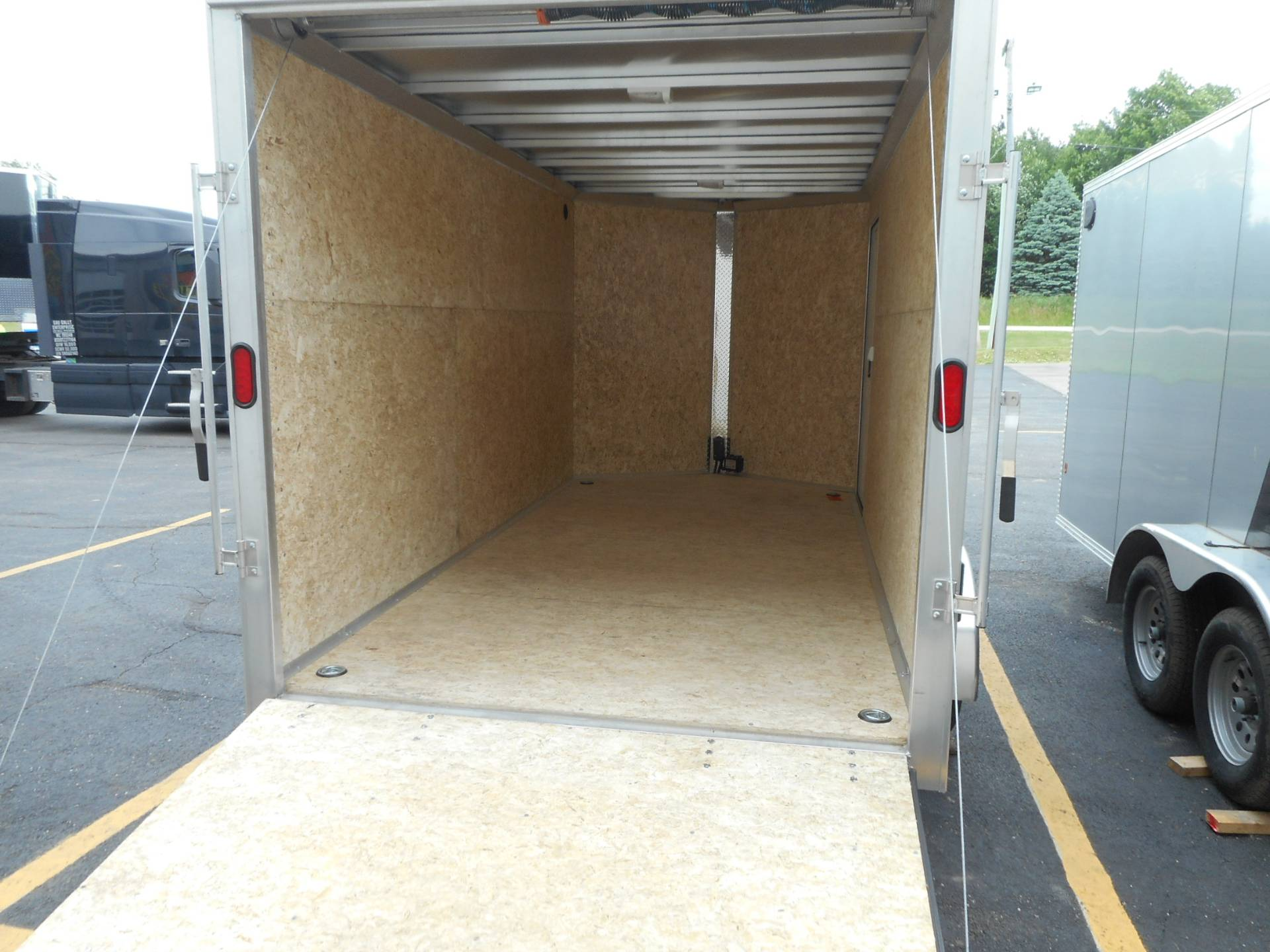 2019 Alcom Trailer 7X14 STEALTH ALUMINUM in Belvidere, Illinois - Photo 6