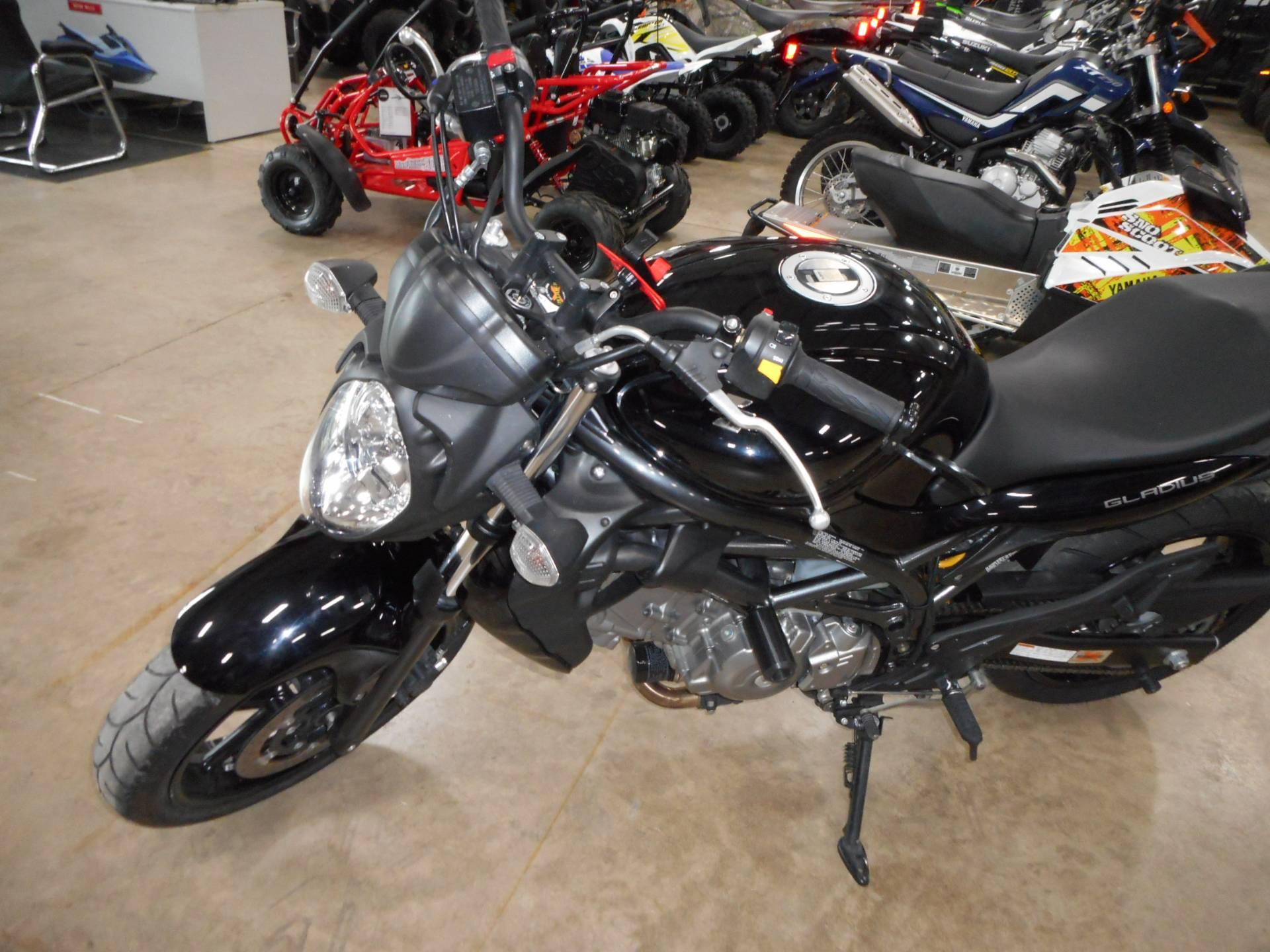 2009 Suzuki Gladius 7