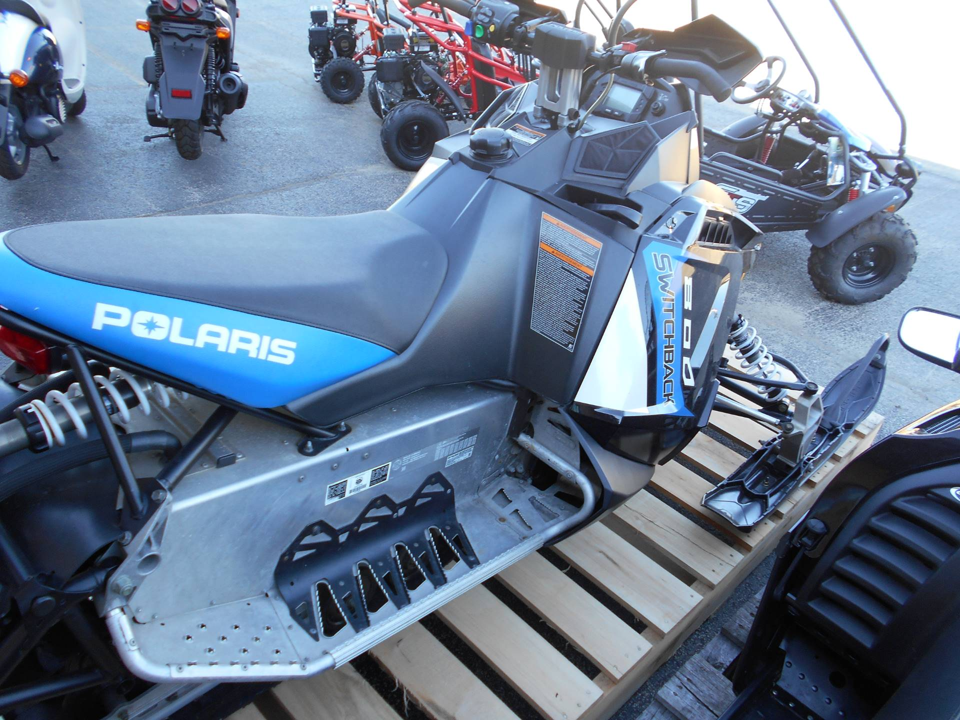 Used 2014 Polaris 800 Switchback® ES Snowmobiles in Belvidere, IL