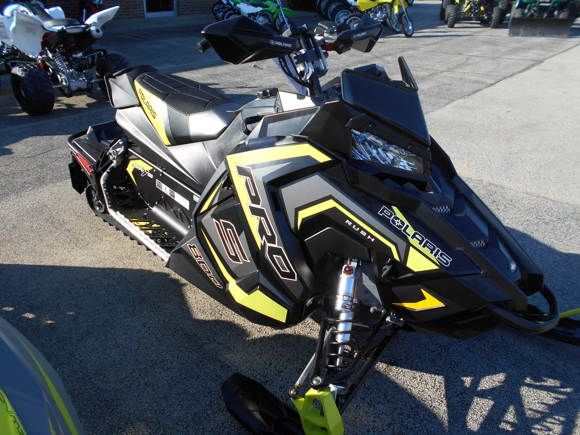 2018 Polaris 800 RUSH PRO-S ES in Belvidere, Illinois