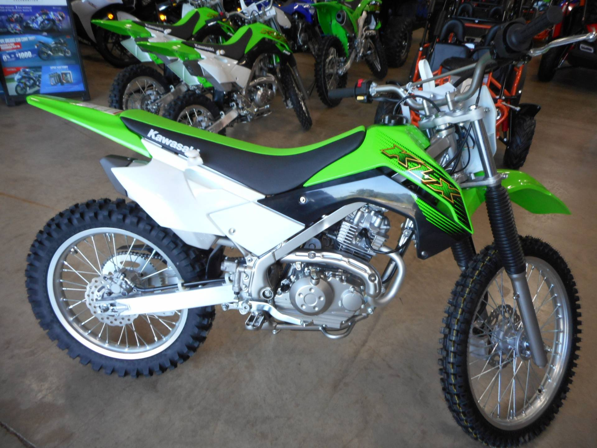 2020 Kawasaki KLX 140G in Belvidere, Illinois - Photo 1