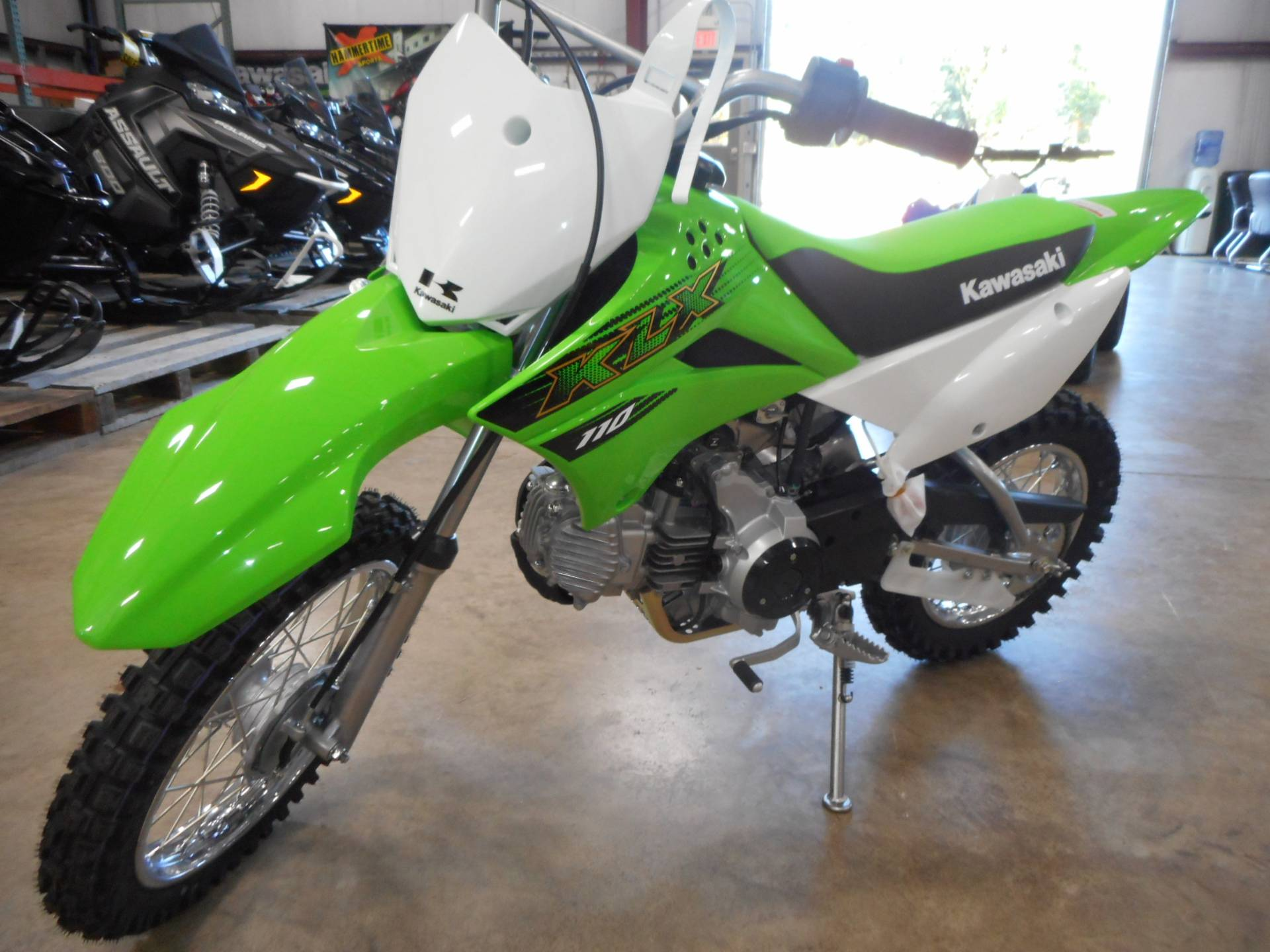 2020 Kawasaki KLX 110 in Belvidere, Illinois - Photo 2