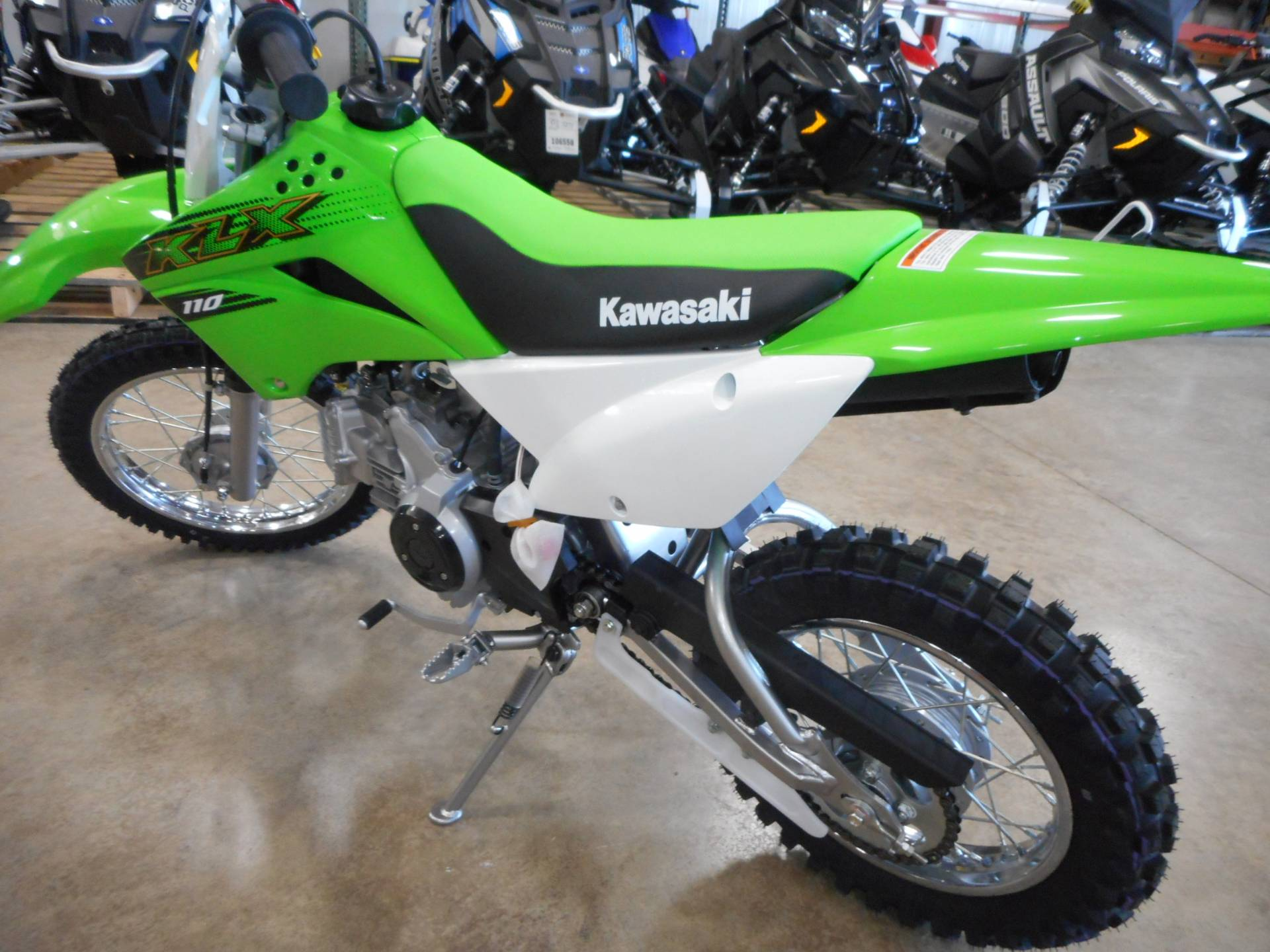 2020 Kawasaki KLX 110 in Belvidere, Illinois - Photo 4