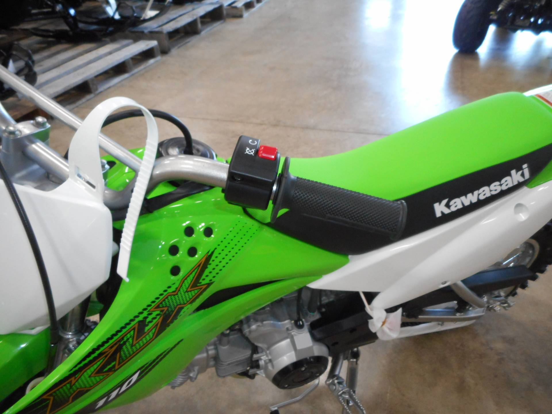 2020 Kawasaki KLX 110 in Belvidere, Illinois - Photo 5