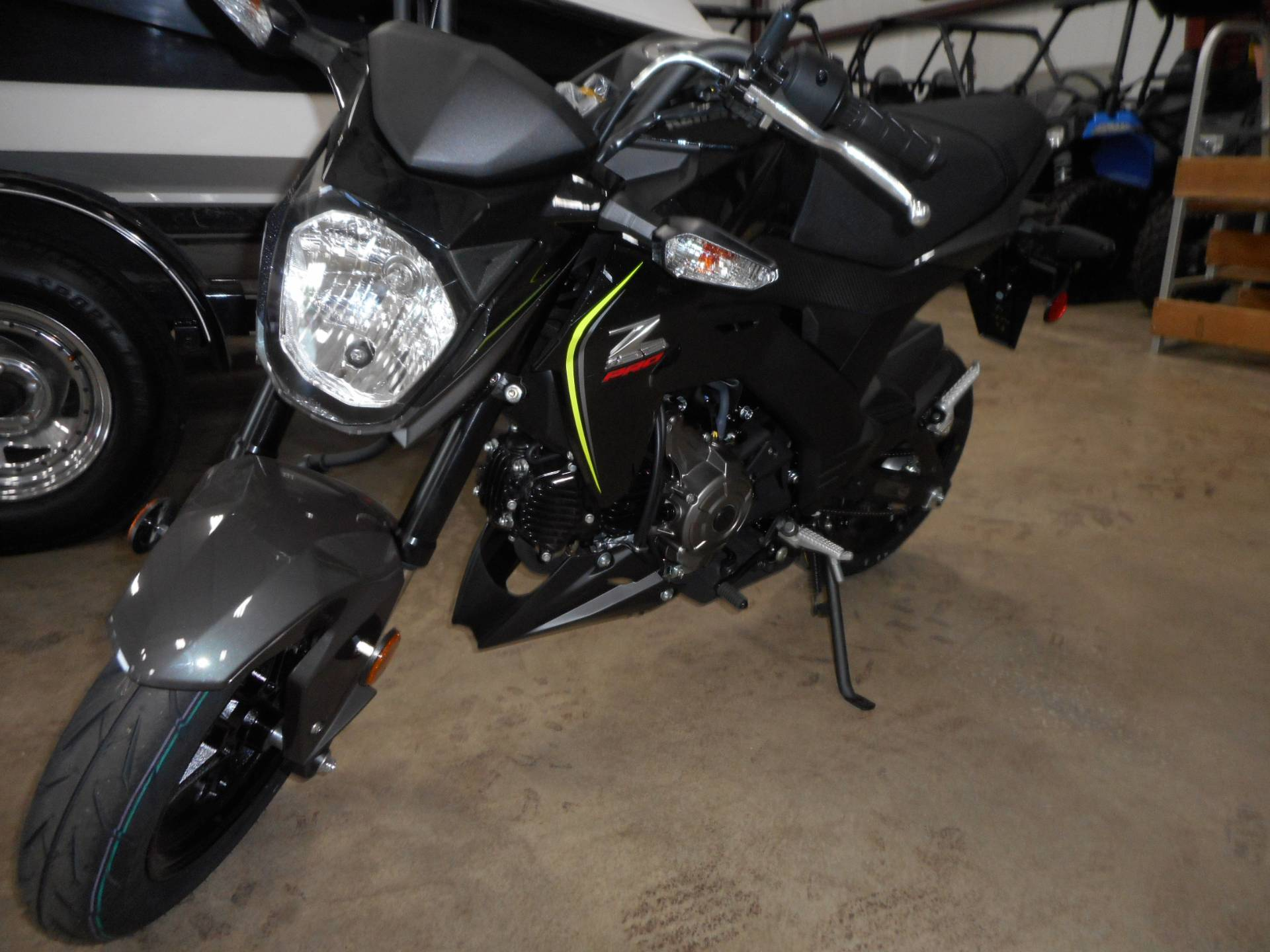 2018 Kawasaki Z125 Pro in Belvidere, Illinois